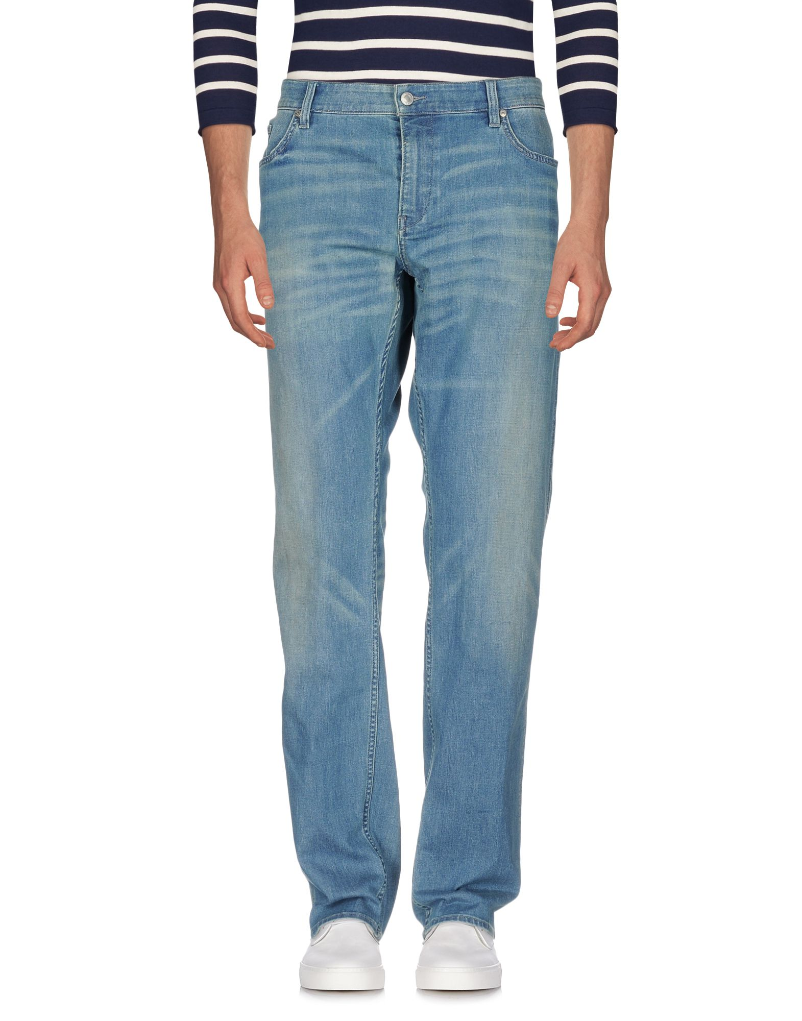BOSS GREEN Denim Pants in Blue