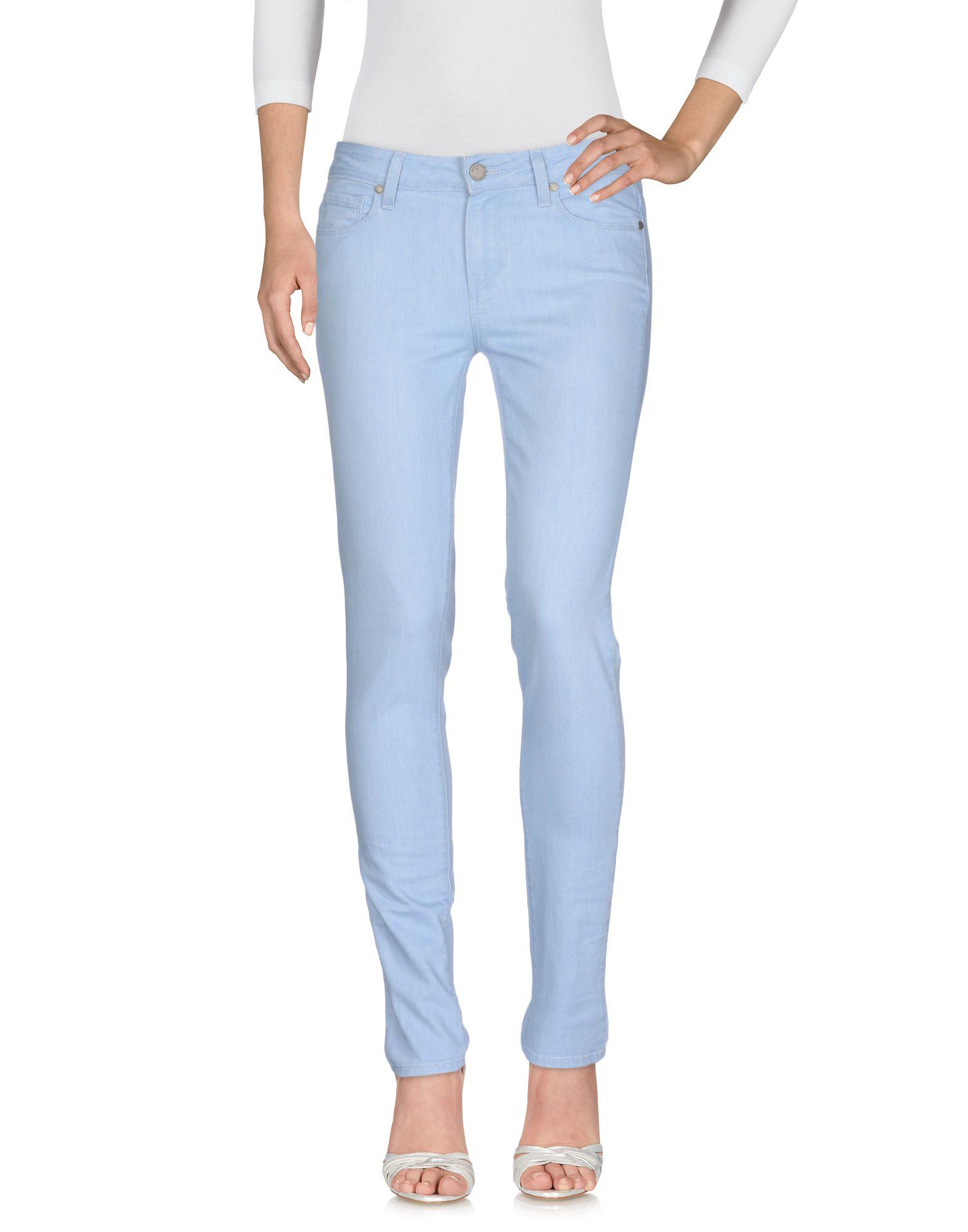 PAIGE Джинсовые брюки женские брюки лэйт светлый размер 56