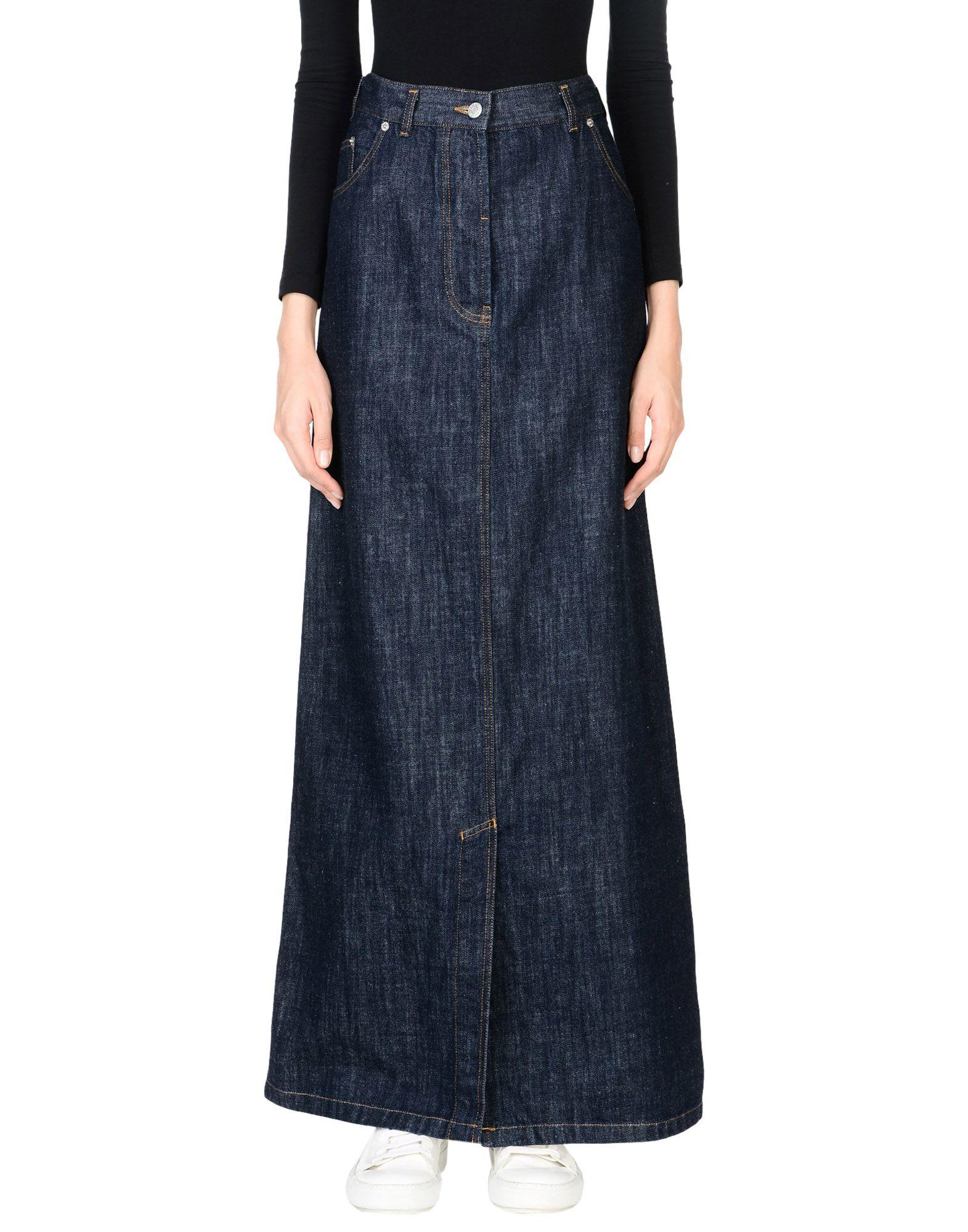 DRIES VAN NOTEN Джинсовая юбка недорго, оригинальная цена