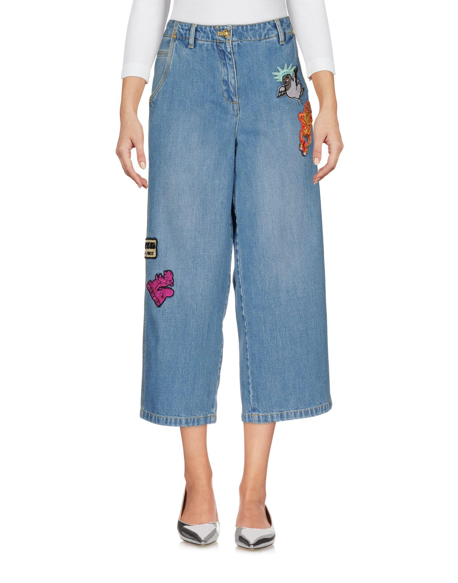 KENZO Джинсовые брюки женские брюки лэйт светлый размер 56