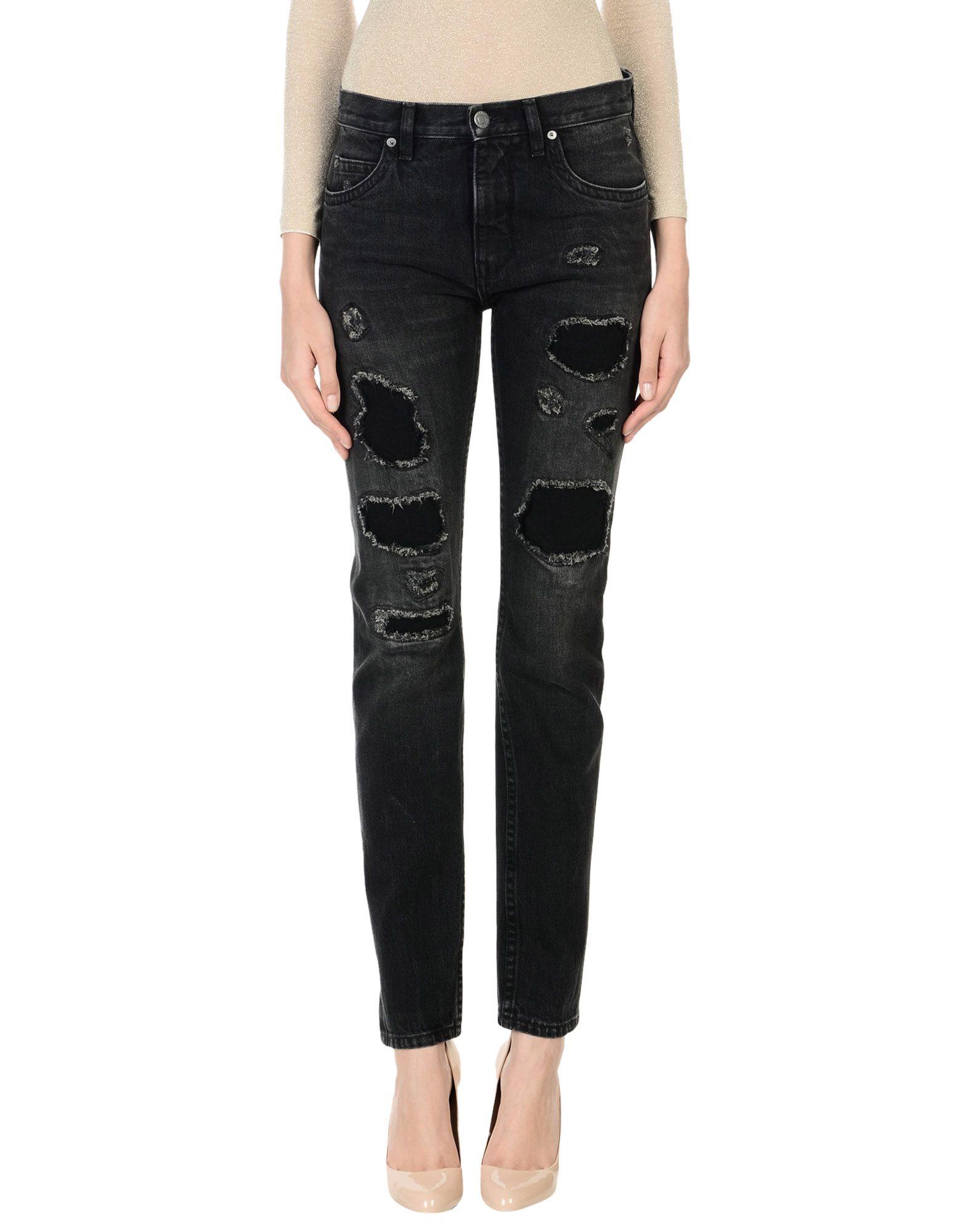 HELMUT HELMUT LANG Джинсовые брюки цена