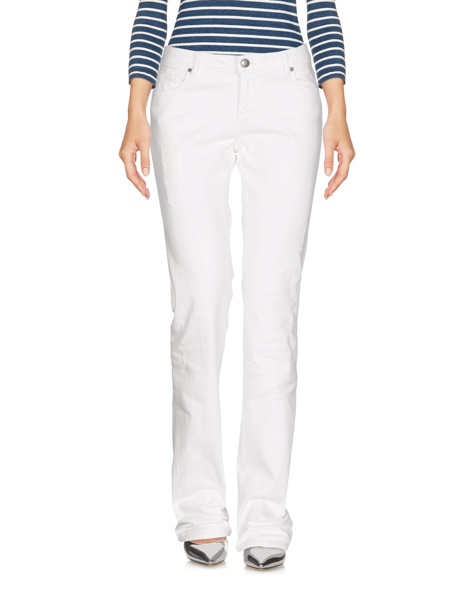 PAIGE PREMIUM DENIM Denim Pants in White