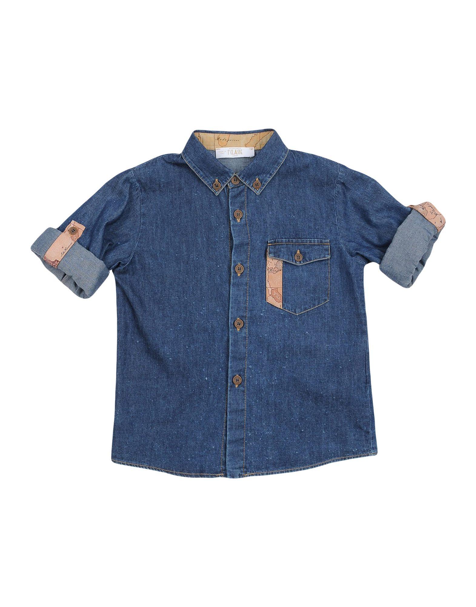 ALVIERO MARTINI 1a CLASSE Denim shirts