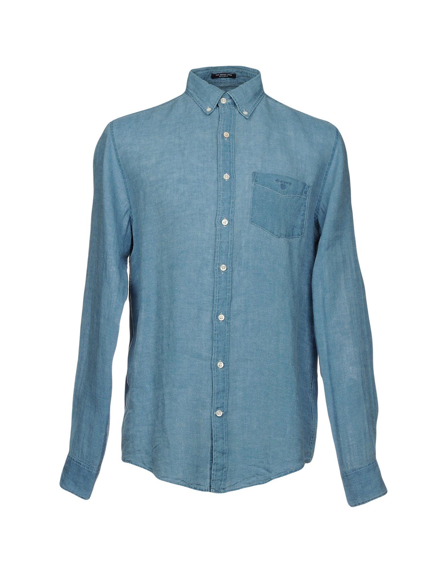 GANT Джинсовая рубашка рубашка gant gant ga121emwjz56 page 10