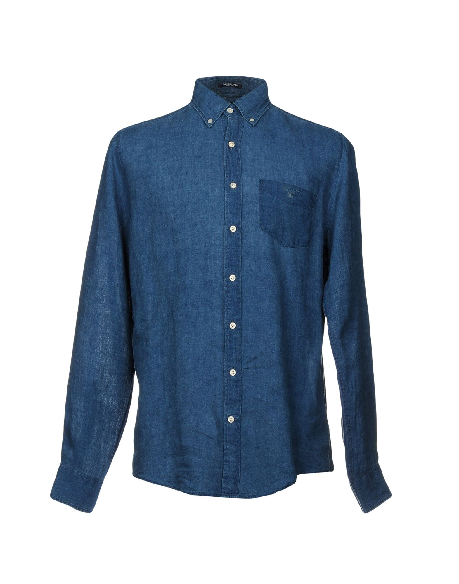 GANT Джинсовая рубашка gant часы gant w70471 коллекция crofton