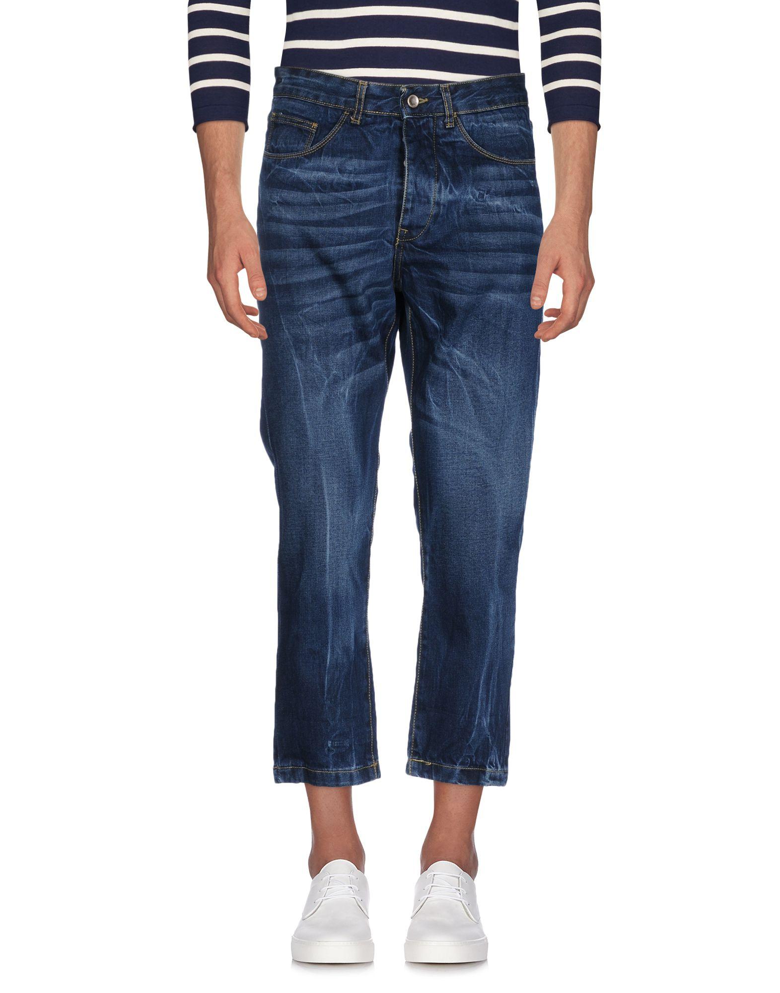 《送料無料》MIX DE RIEN メンズ ジーンズ ブルー 30 コットン 100%