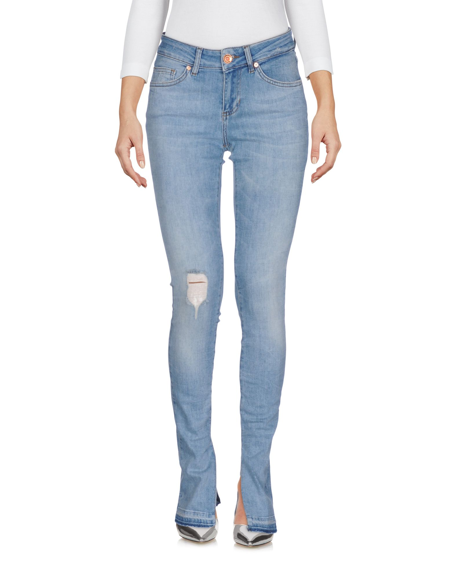 SEVEN7 Джинсовые брюки цена