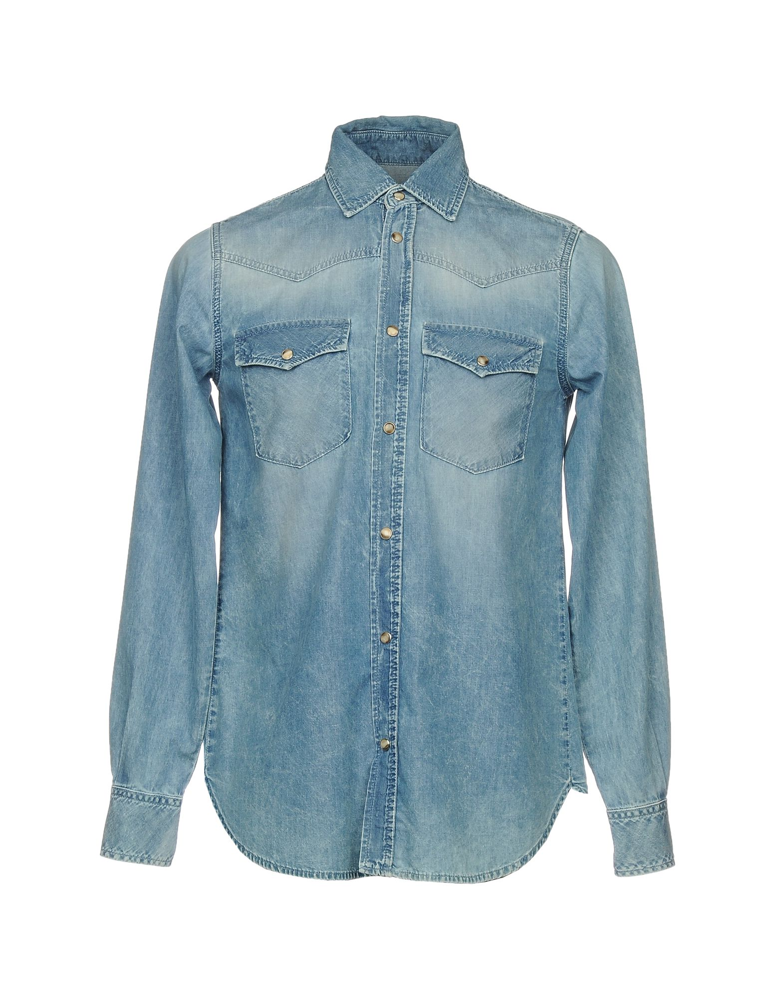 BOY LONDON Джинсовая рубашка цена и фото