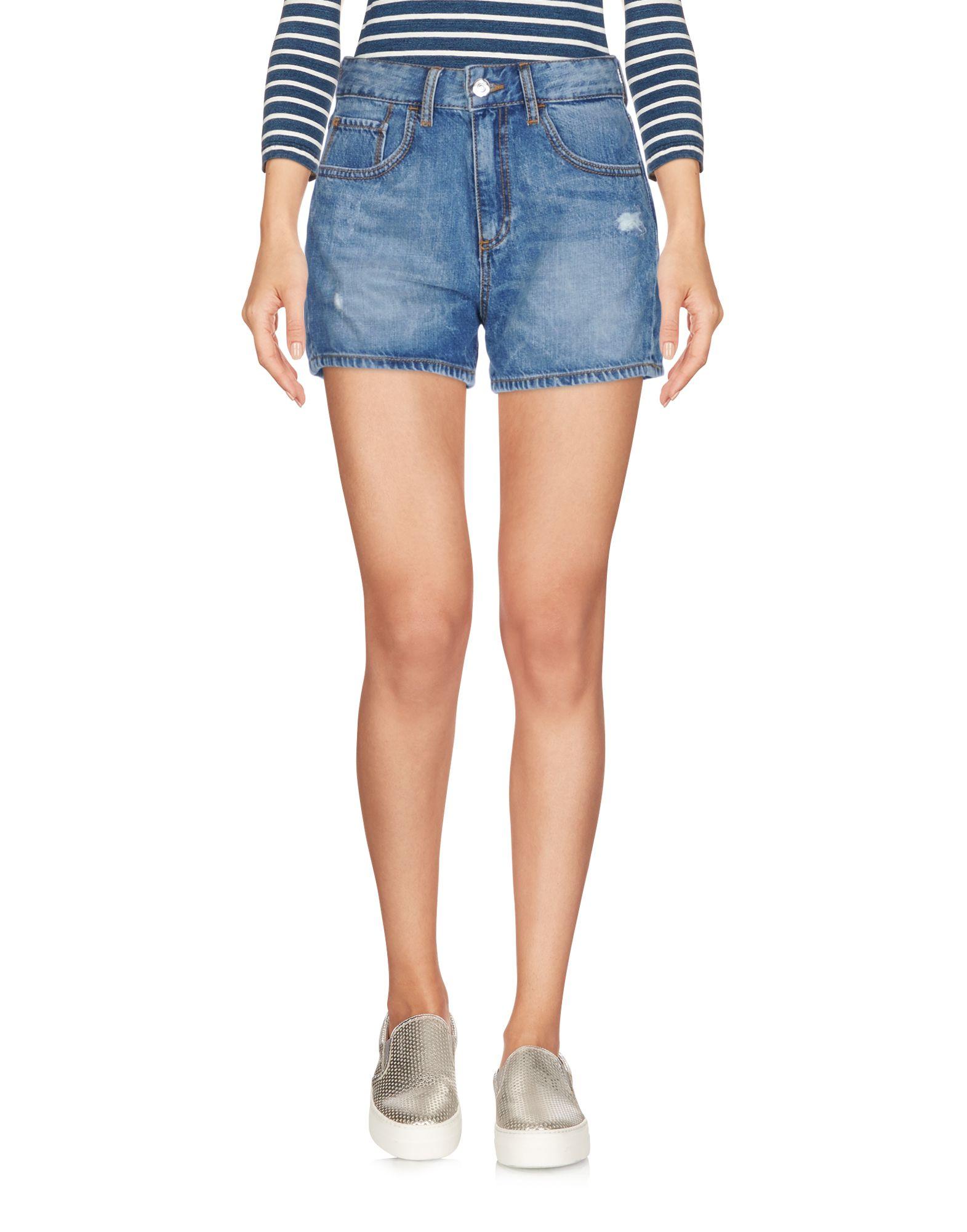 FORNARINA Джинсовые шорты superfine джинсовые шорты