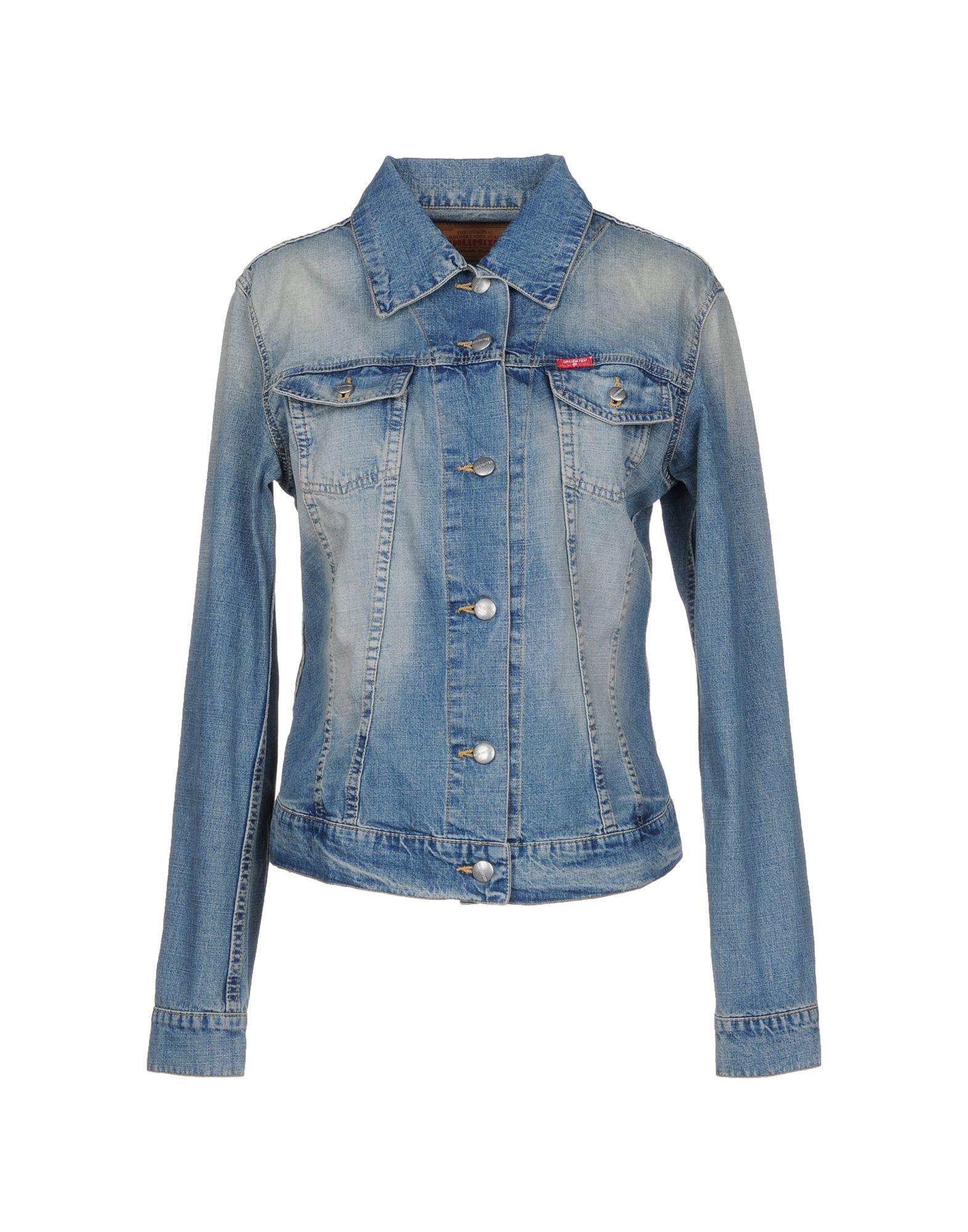 UNLIMITED Джинсовая верхняя одежда topshop unique джинсовая верхняя одежда