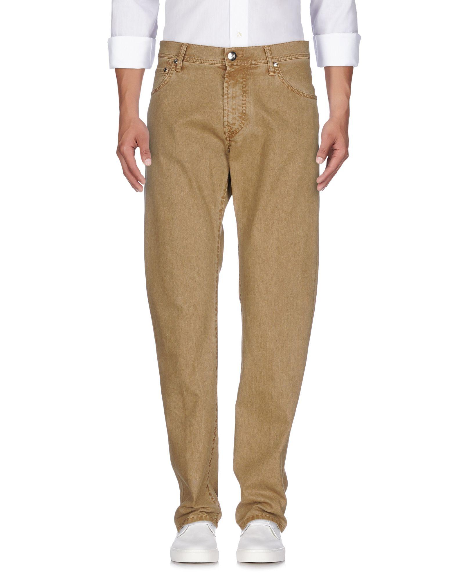 цена CORNELIANI ID Джинсовые брюки онлайн в 2017 году