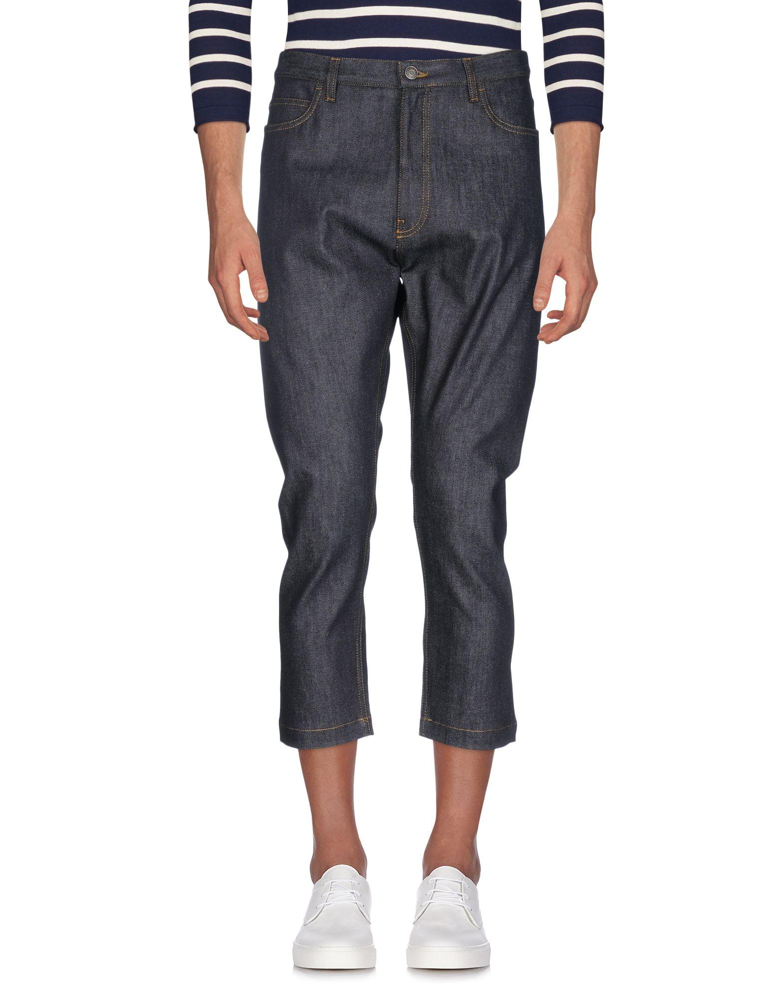 JIL SANDER Джинсовые брюки