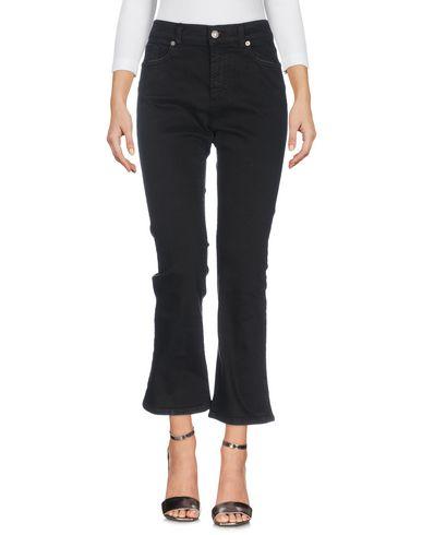 Фото - Джинсовые брюки от BLUE DE BLEU черного цвета