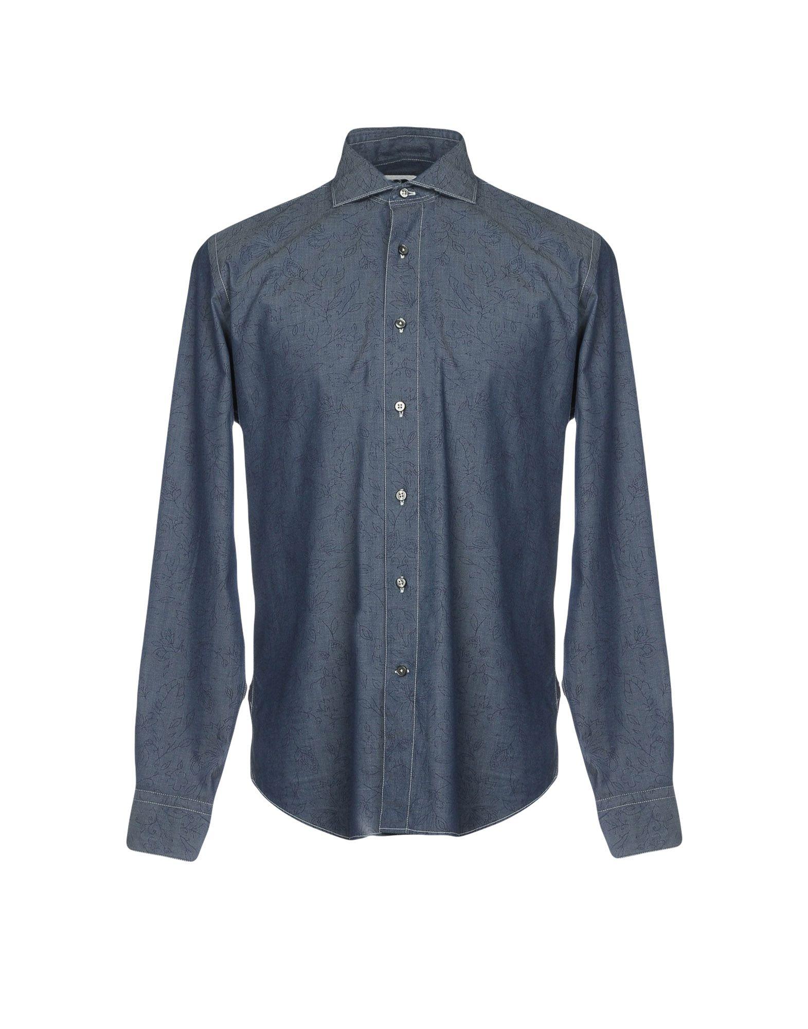 BAGUTTA Джинсовая рубашка