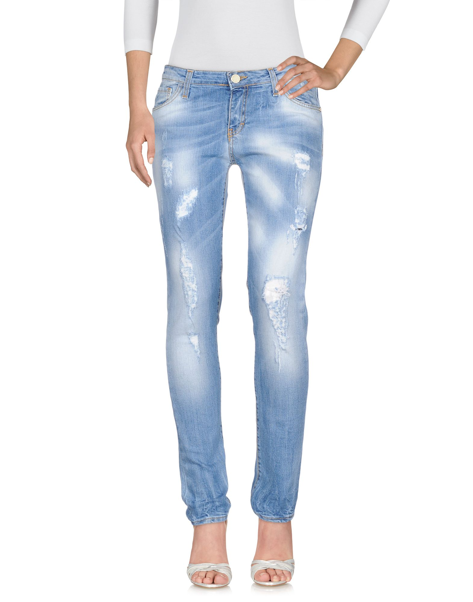 LES NOIR Джинсовые брюки les noir джинсовые брюки