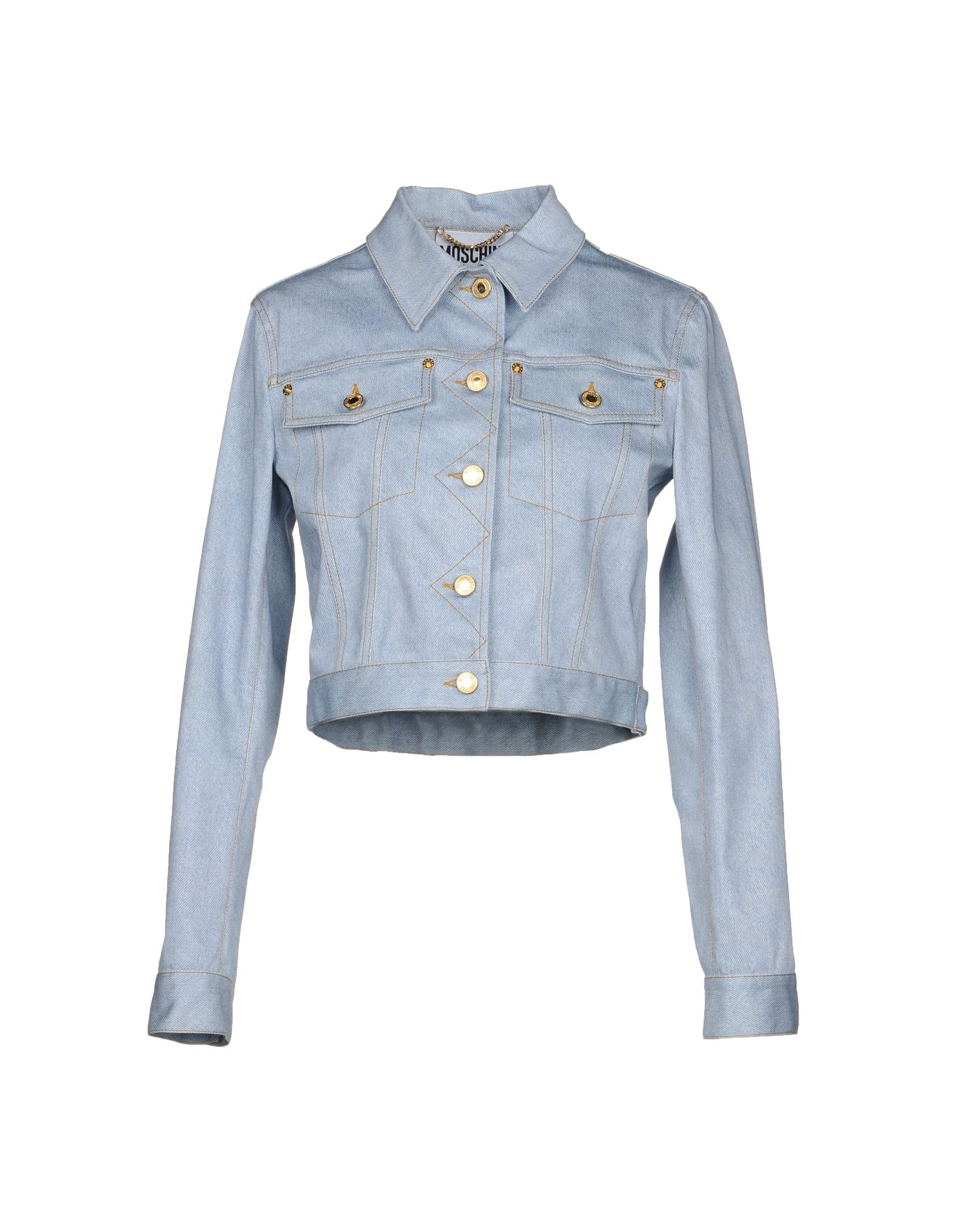 MOSCHINO COUTURE Джинсовая верхняя одежда boutique moschino джинсовая верхняя одежда