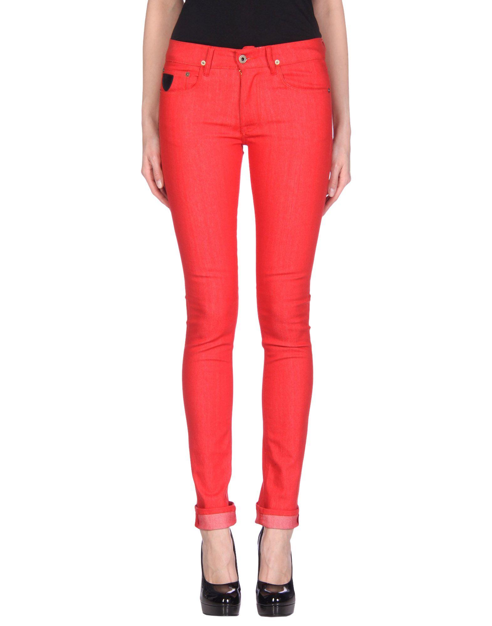 APRIL77 Denim Pants in Red
