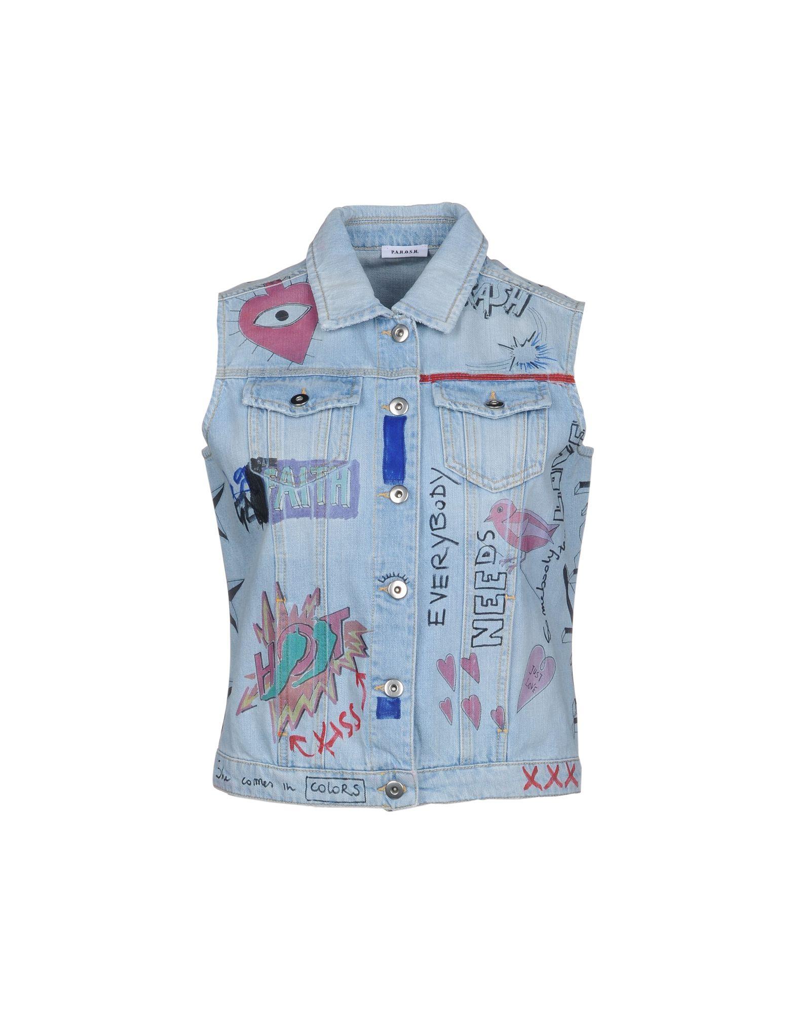 P.A.R.O.S.H. Джинсовая верхняя одежда детская верхняя одежда wellber