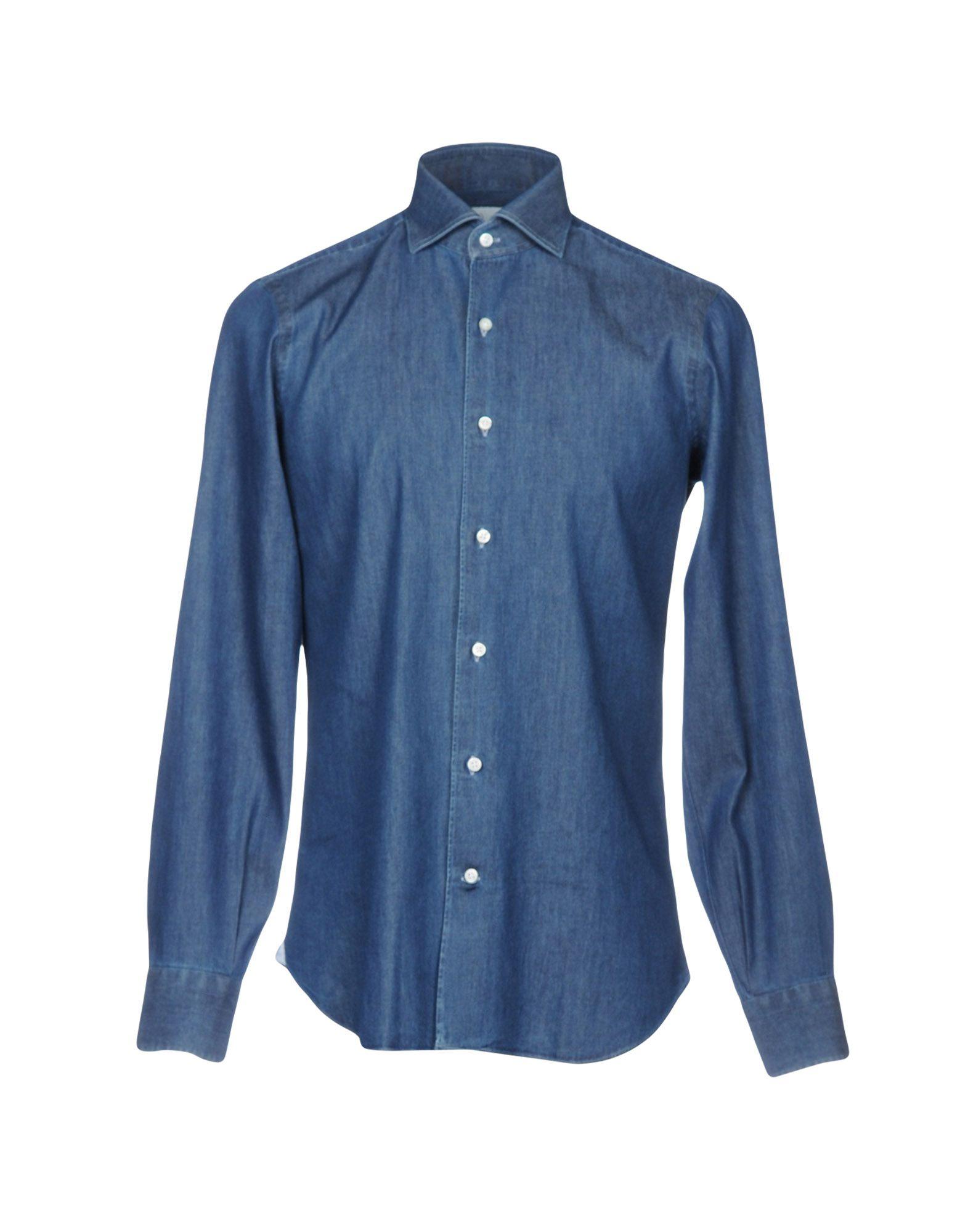MARIA SANTANGELO Napoli Джинсовая рубашка