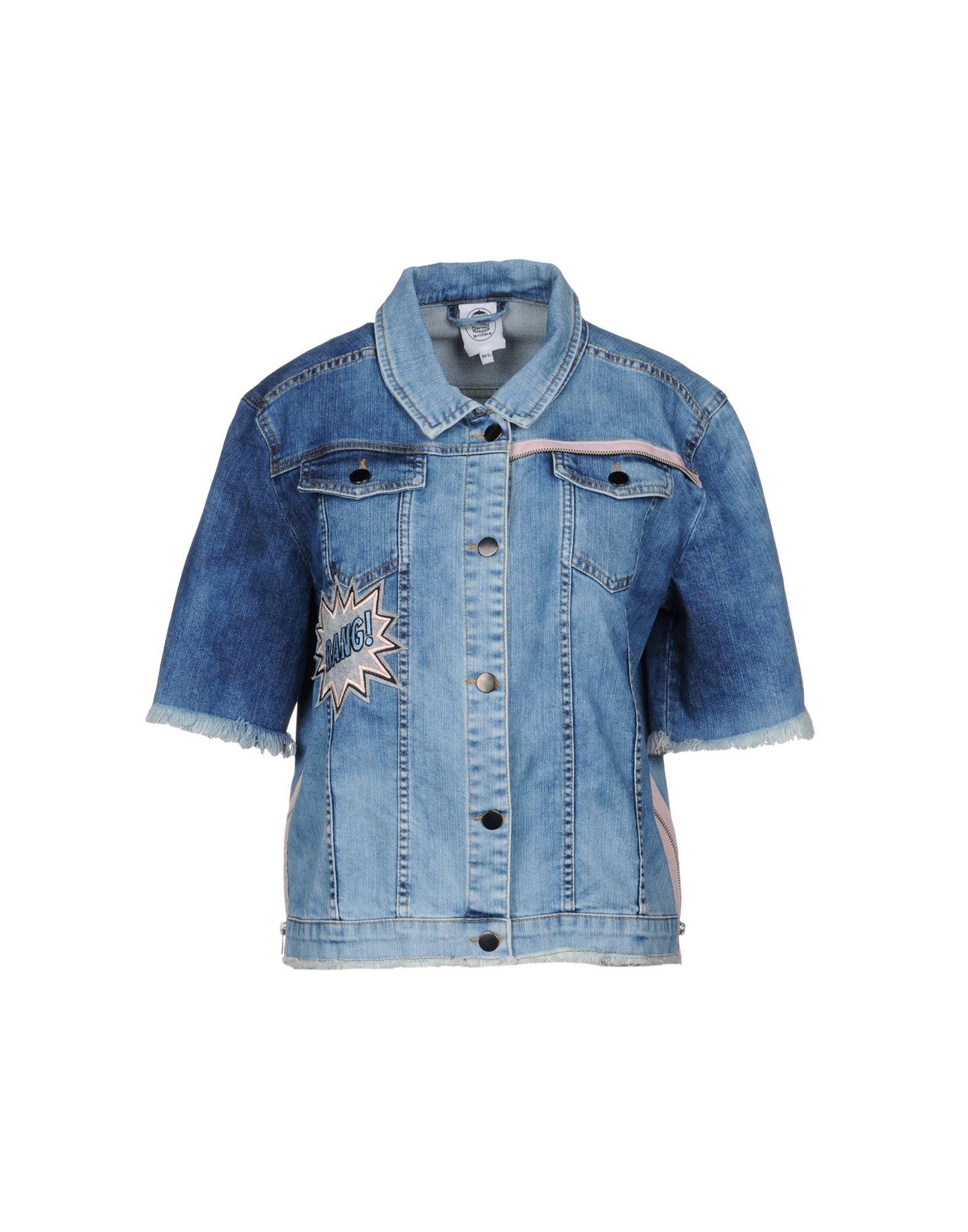 LE VOLIÈRE Джинсовая верхняя одежда le volière джинсовая рубашка