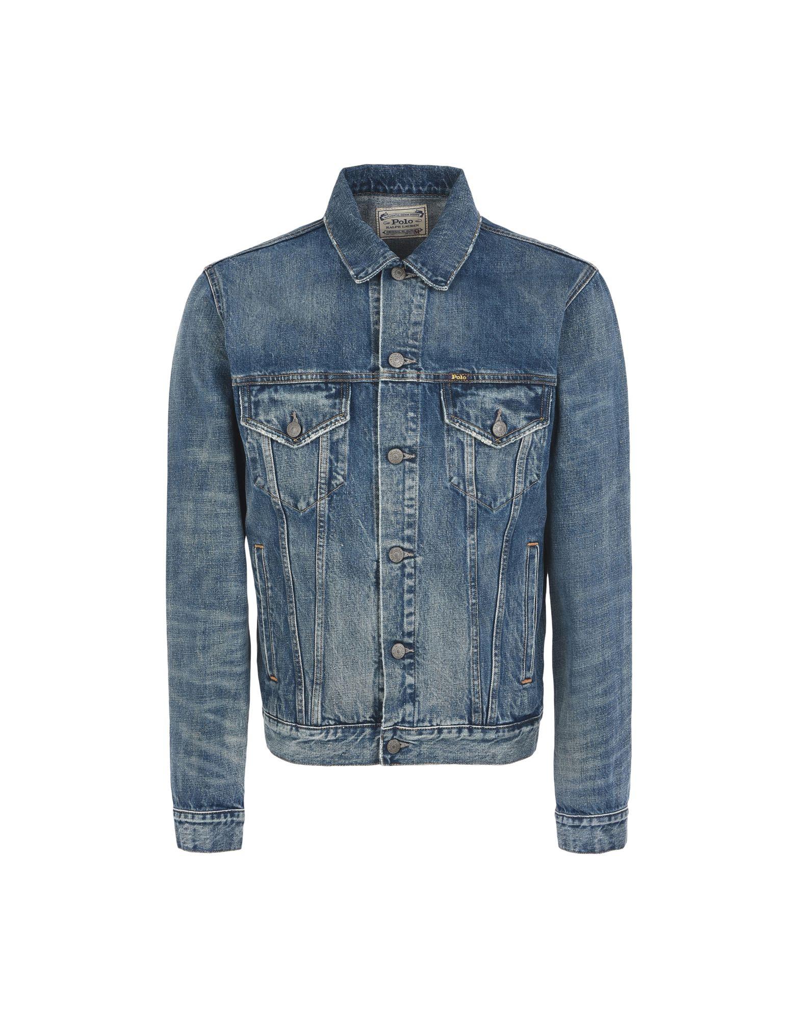 《セール開催中》POLO RALPH LAUREN メンズ デニムアウター ブルー S コットン 100% Modern Battle Jacket