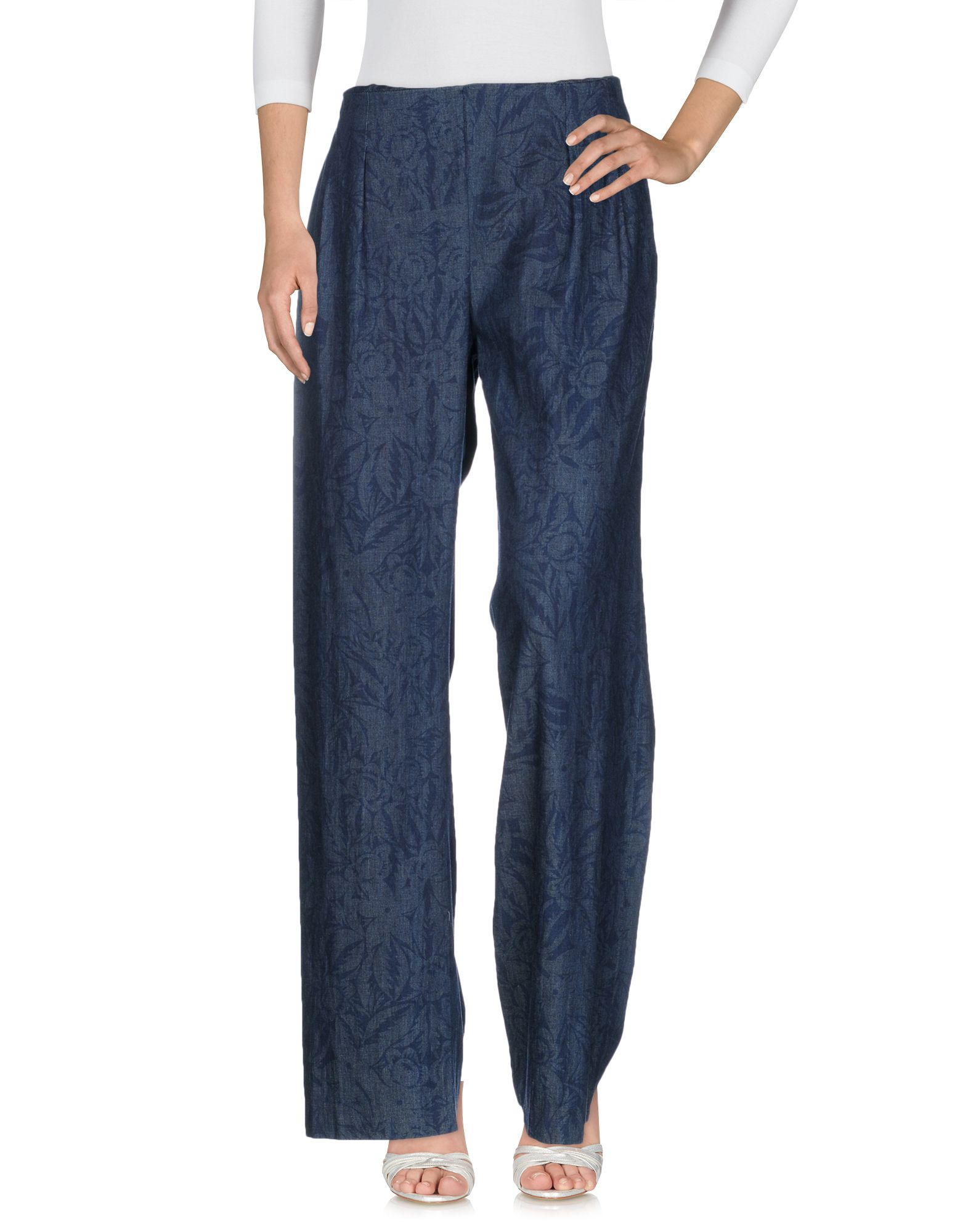 NEW YORK INDUSTRIE Джинсовые брюки цена 2017
