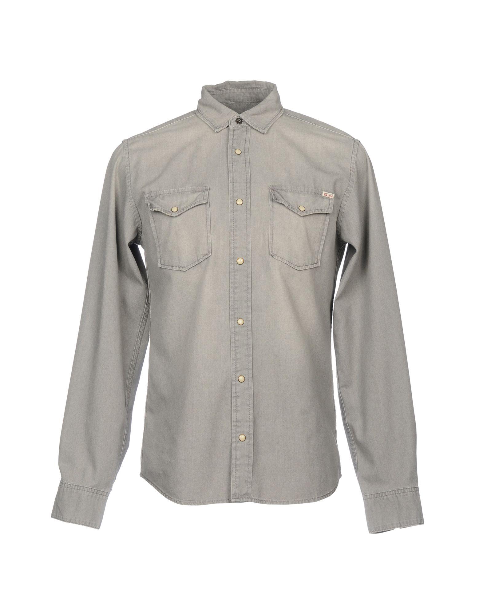 JACK & JONES Джинсовая рубашка