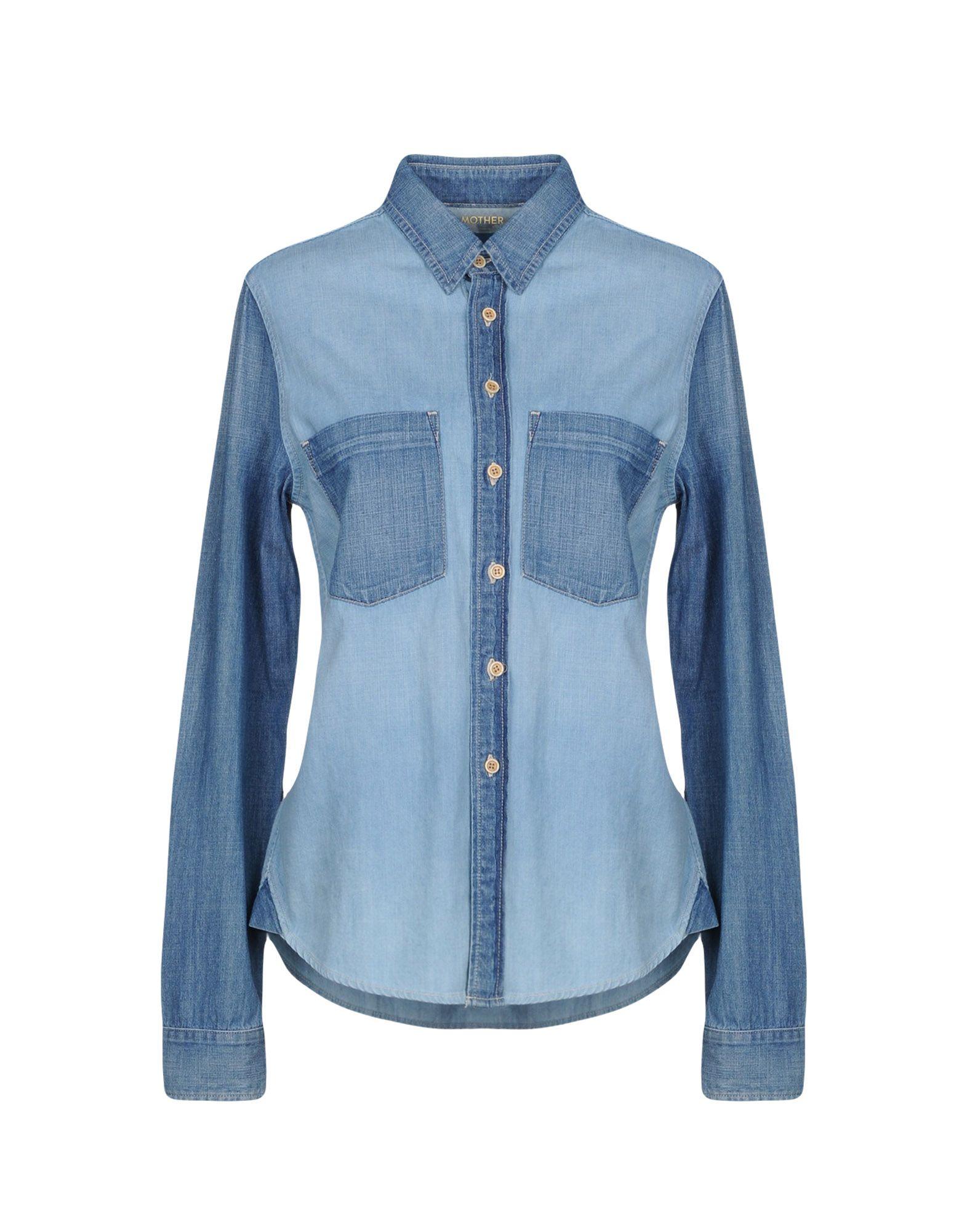 MOTHER Джинсовая рубашка legrand 61765 page 4