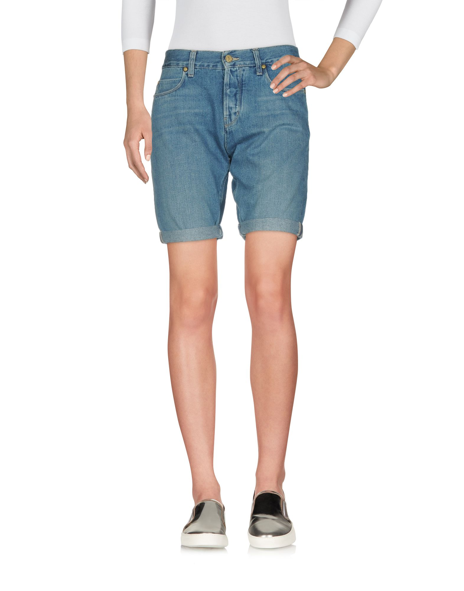 M.I.H JEANS Джинсовые бермуды masons jeans джинсовые бермуды