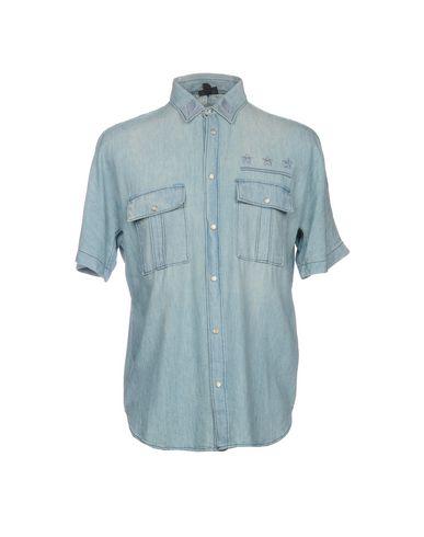 Джинсовая рубашка размер 50, 52 цвет синий