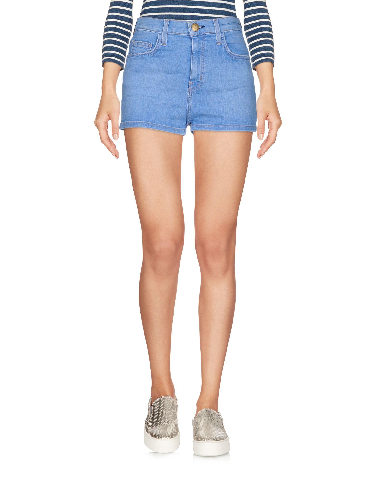 CURRENT/ELLIOTT Джинсовые шорты superfine джинсовые шорты