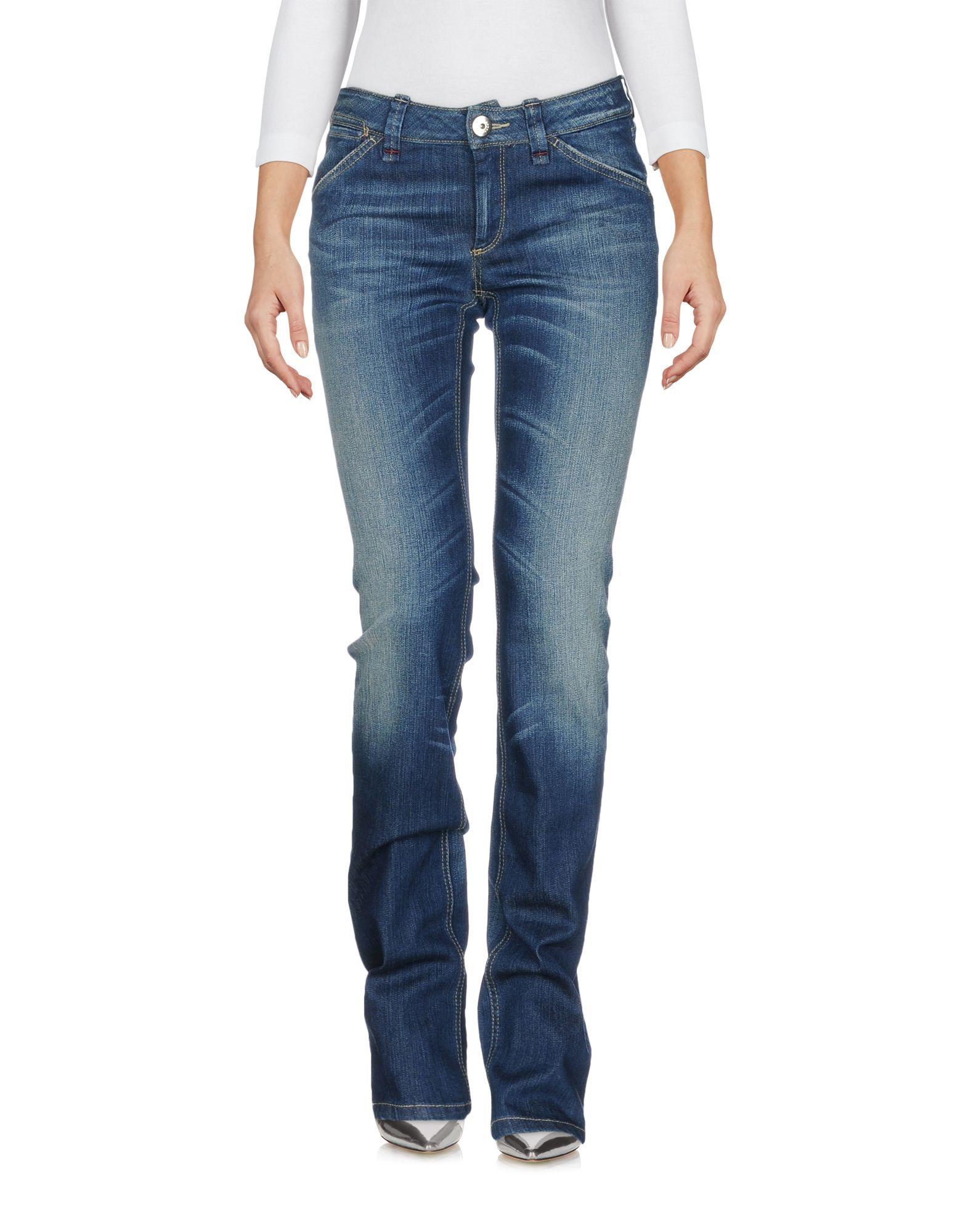 SPORTMAX CODE Damen Jeanshose Farbe Blau Größe 2