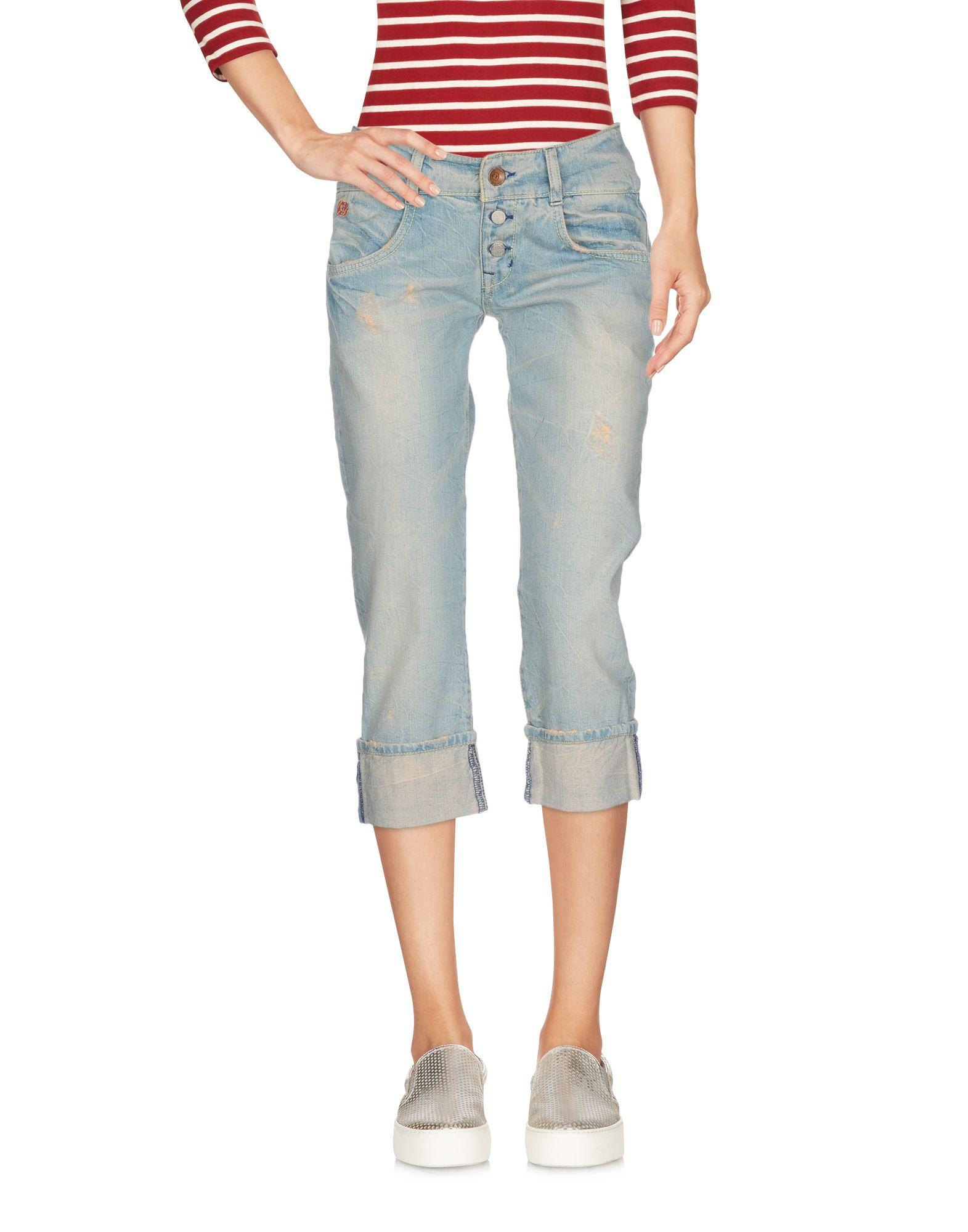 GURU Джинсовые брюки-капри