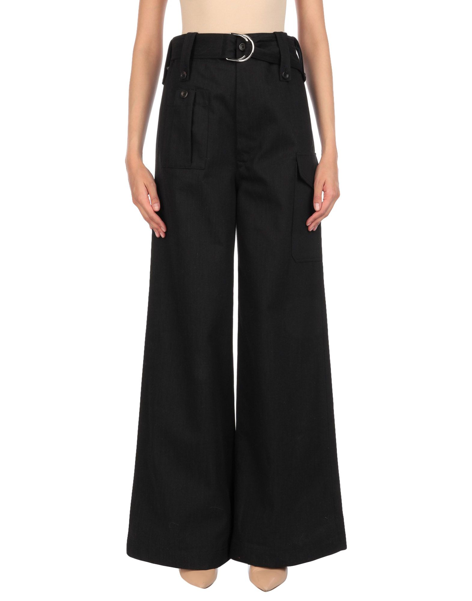 MIU MIU Джинсовые брюки miu miu черный шерстяной кардиган