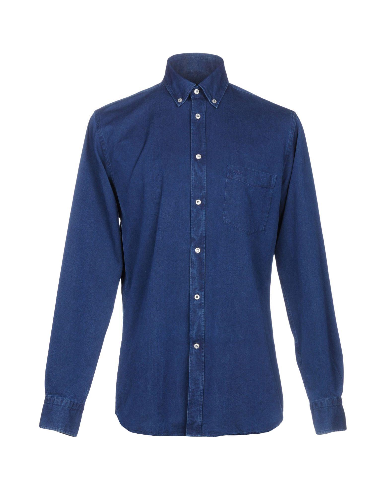 PAUL & SHARK Джинсовая рубашка
