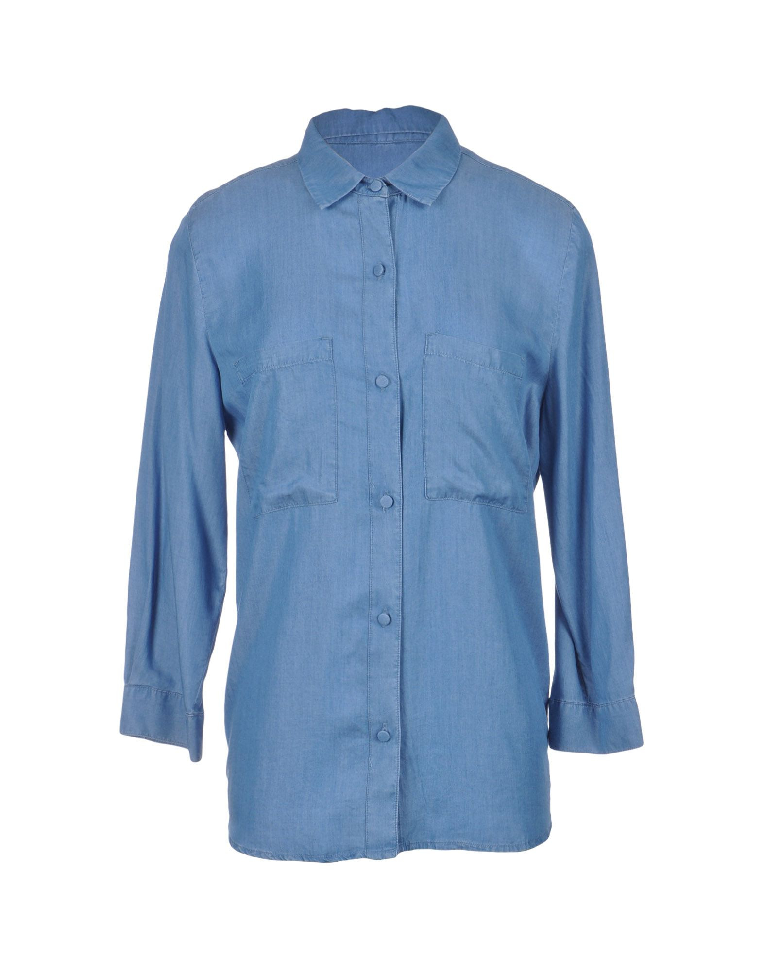 ARMANI JEANS Джинсовая рубашка рубашка armani jeans armani jeans ar411ewpwf60