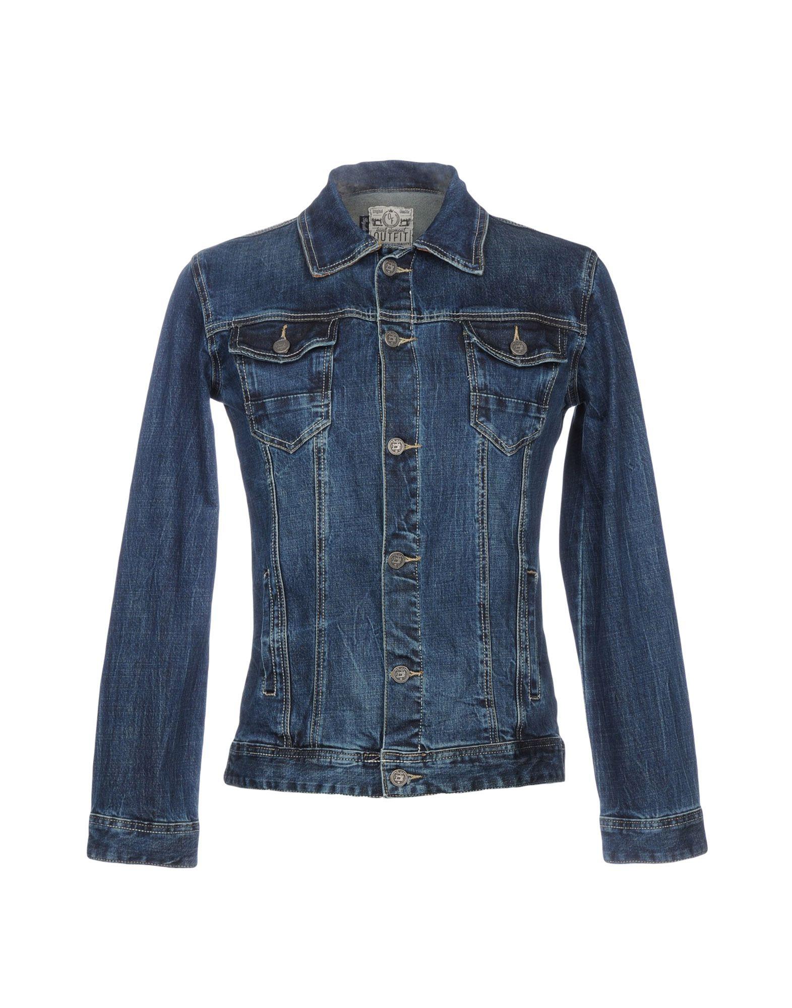 OUTFIT Джинсовая верхняя одежда wood wood джинсовая верхняя одежда