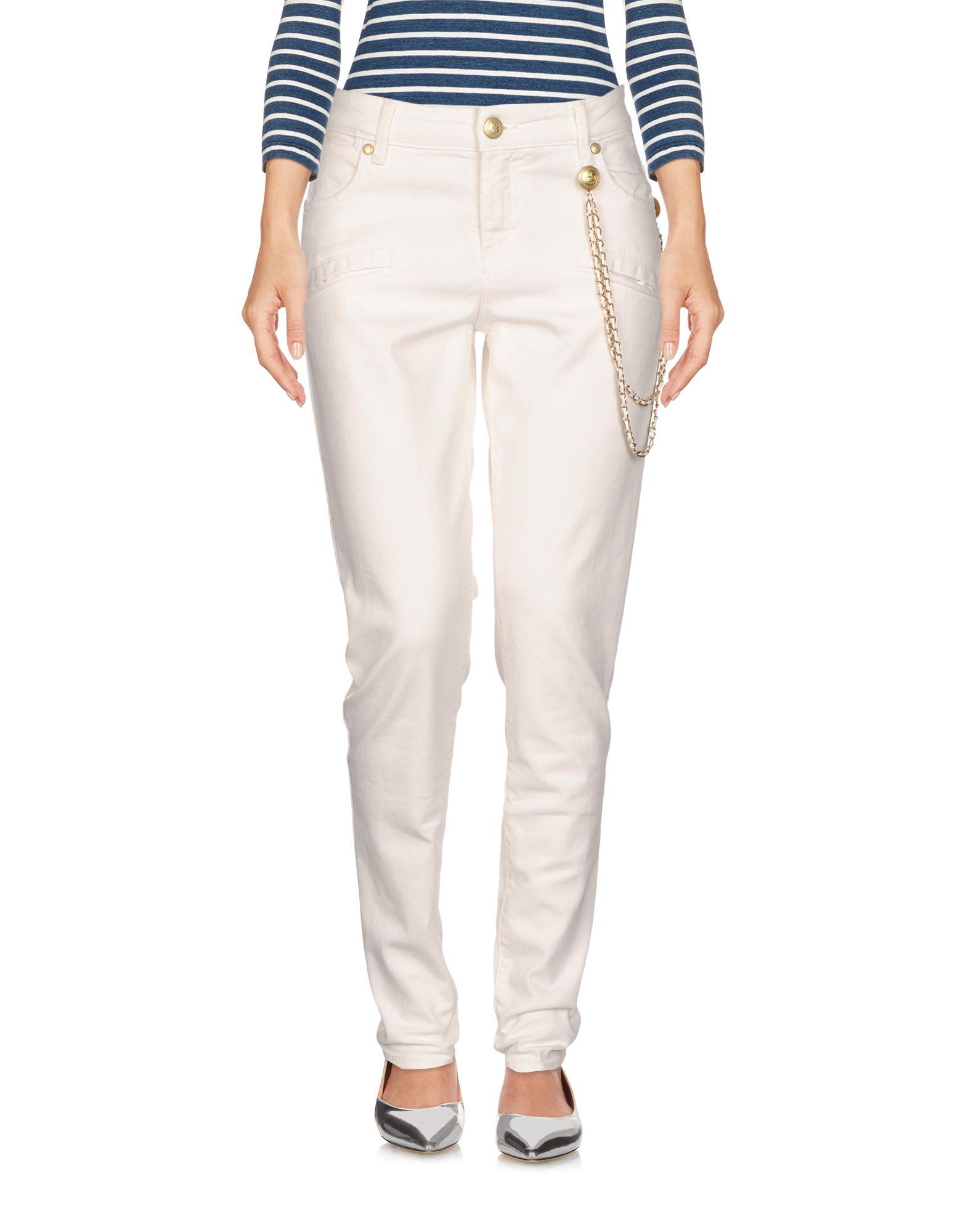 PIERRE BALMAIN Джинсовые брюки charming короткое платье