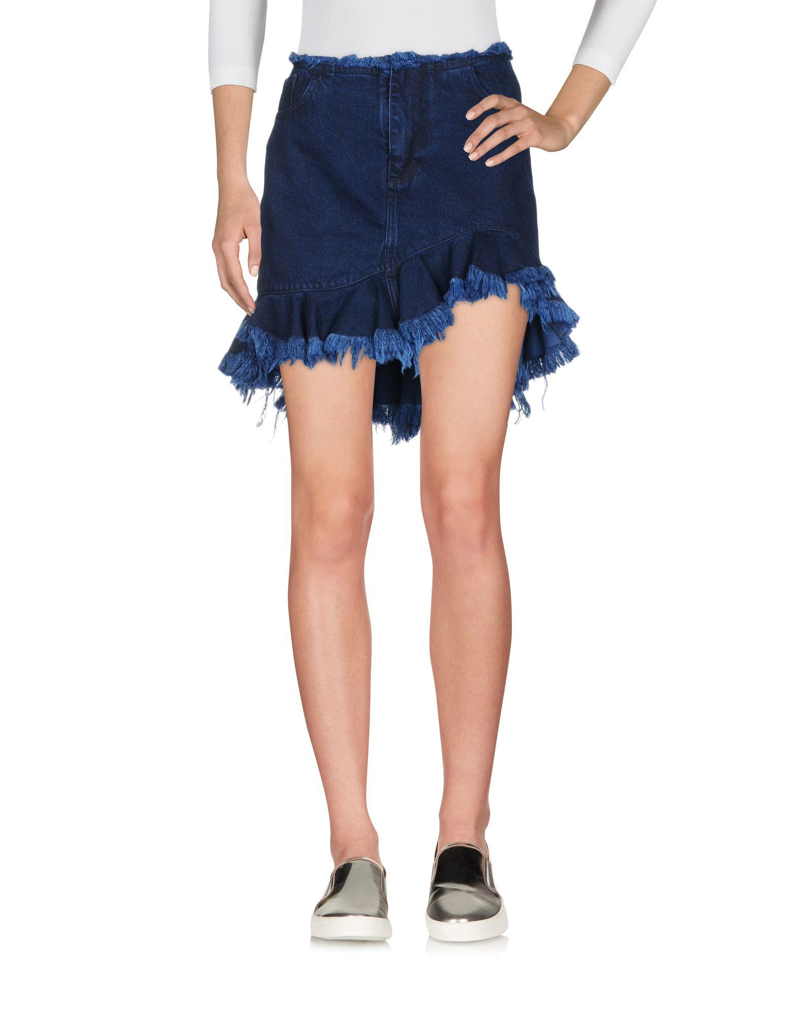 цена на MARQUES' ALMEIDA Джинсовая юбка