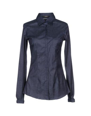 Джинсовая рубашка размер 42 цвет синий