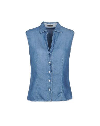 ROBERT FRIEDMAN レディース デニムシャツ ブルー S テンセル 100%
