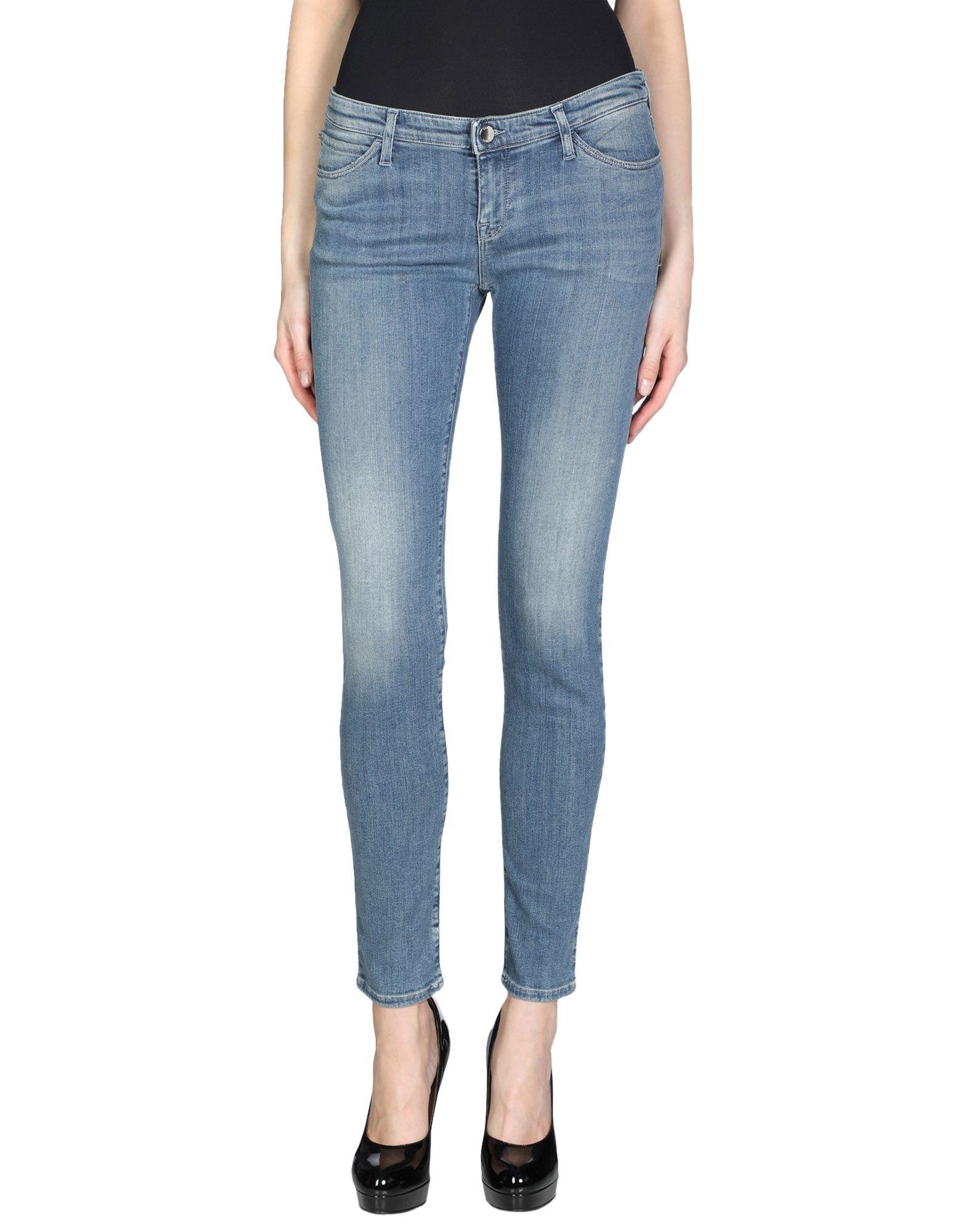 ARMANI JEANS Джинсовые брюки женские брюки лэйт светлый размер 50