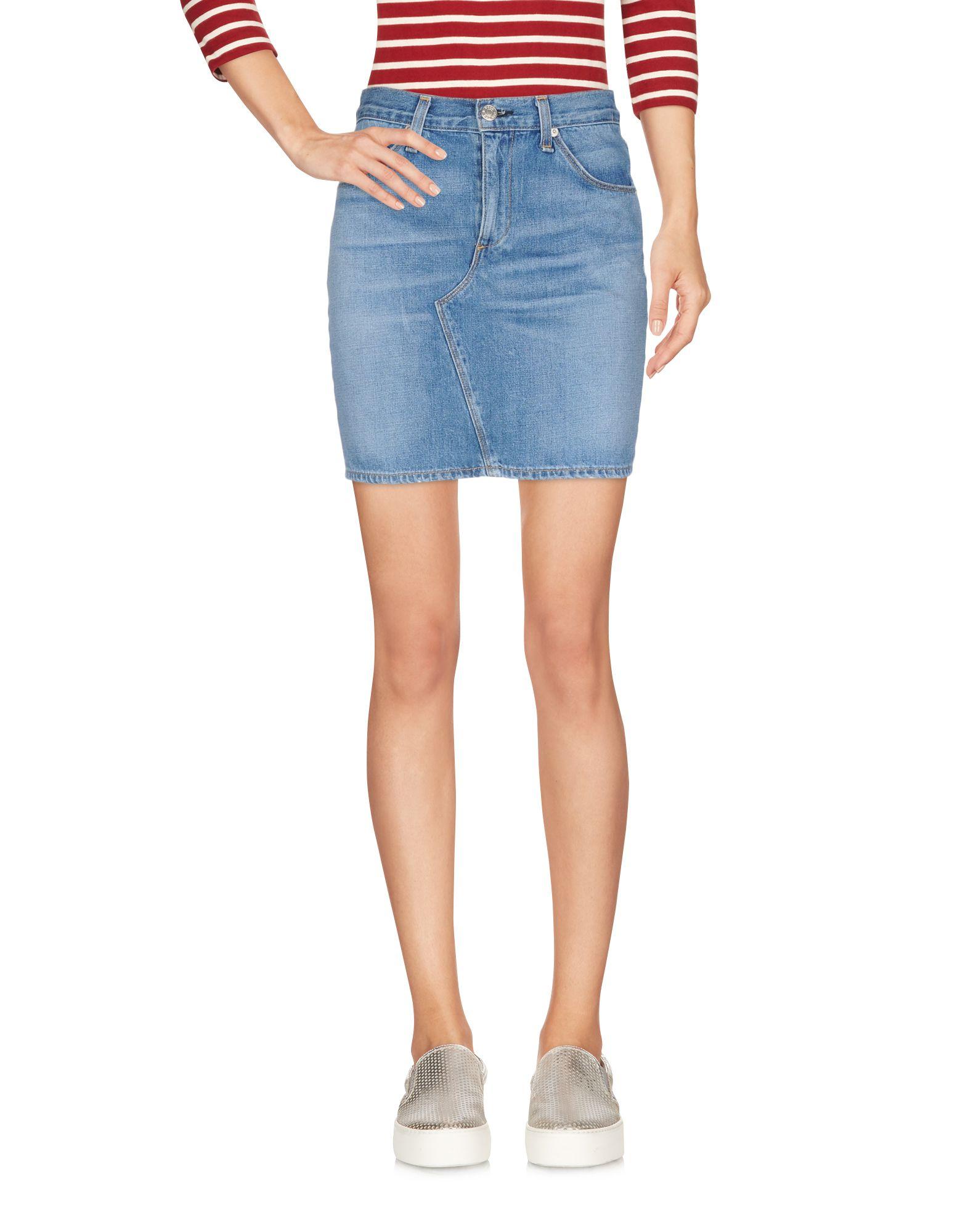 цена RAG & BONE Джинсовая юбка онлайн в 2017 году