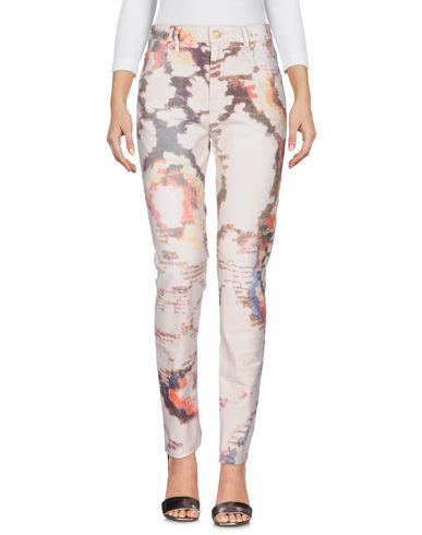 Купить Джинсовые брюки от ISABEL MARANT ÉTOILE светло-розового цвета