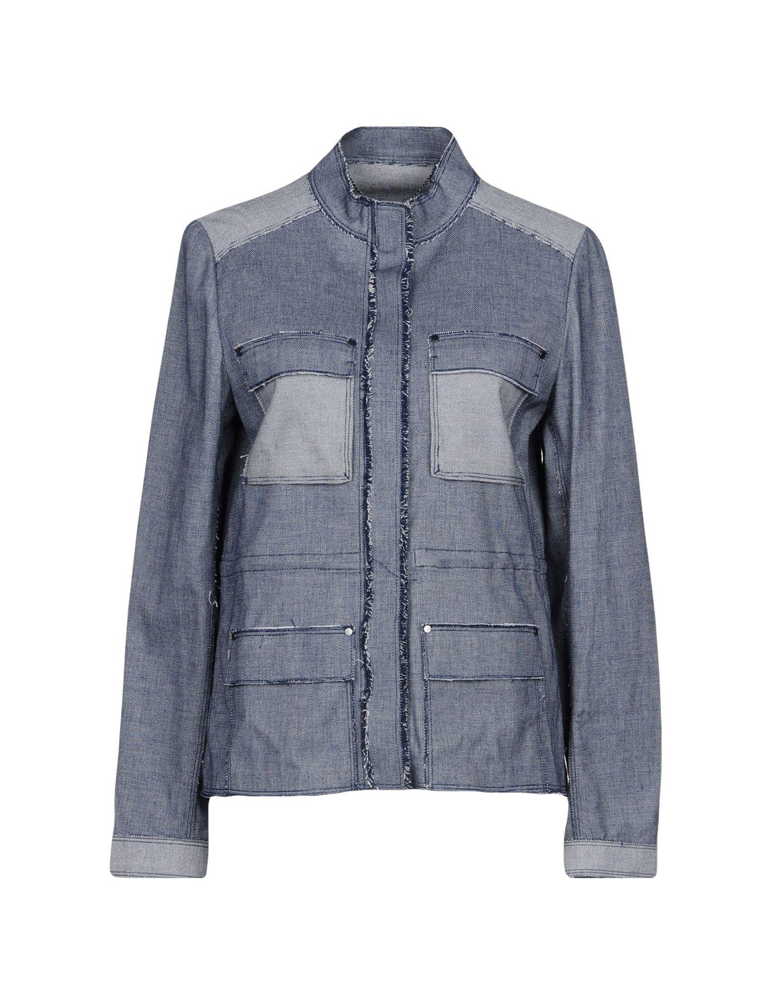 ELIE TAHARI Джинсовая верхняя одежда wood wood джинсовая верхняя одежда