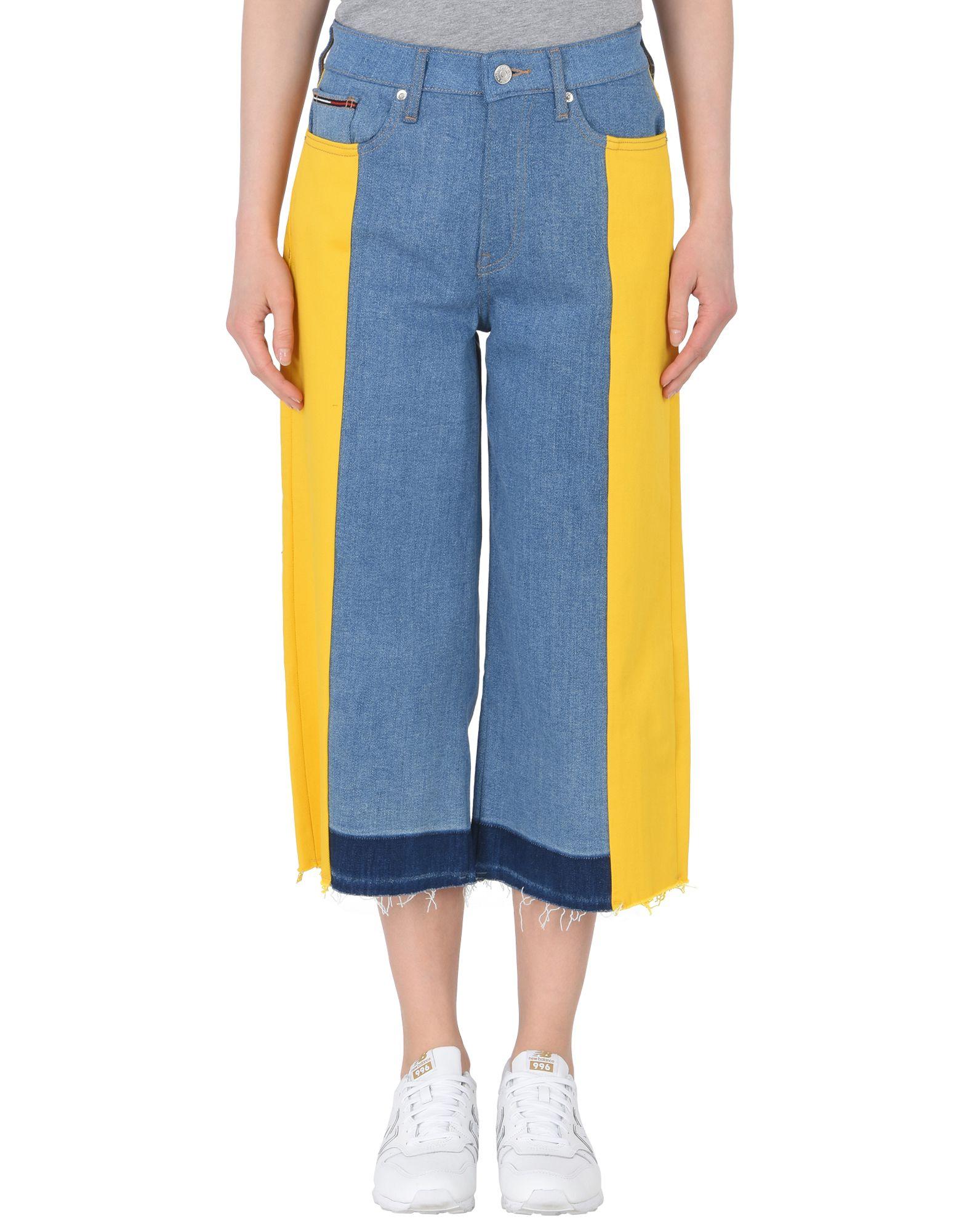 TOMMY JEANS Джинсовые брюки-капри tommy jeans джинсовые брюки