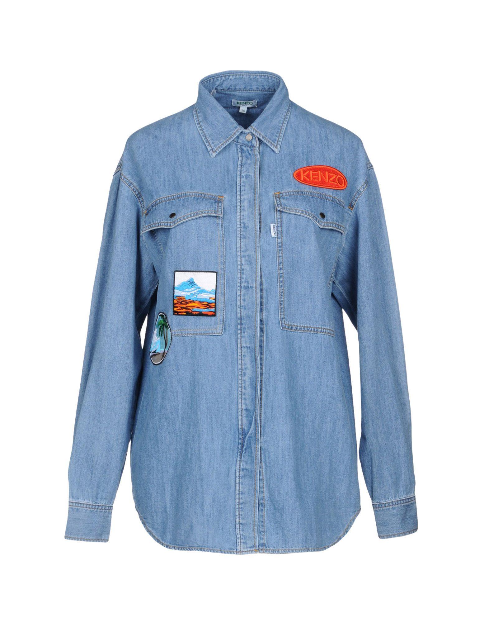 KENZO Джинсовая рубашка maytoni eco004 02 n