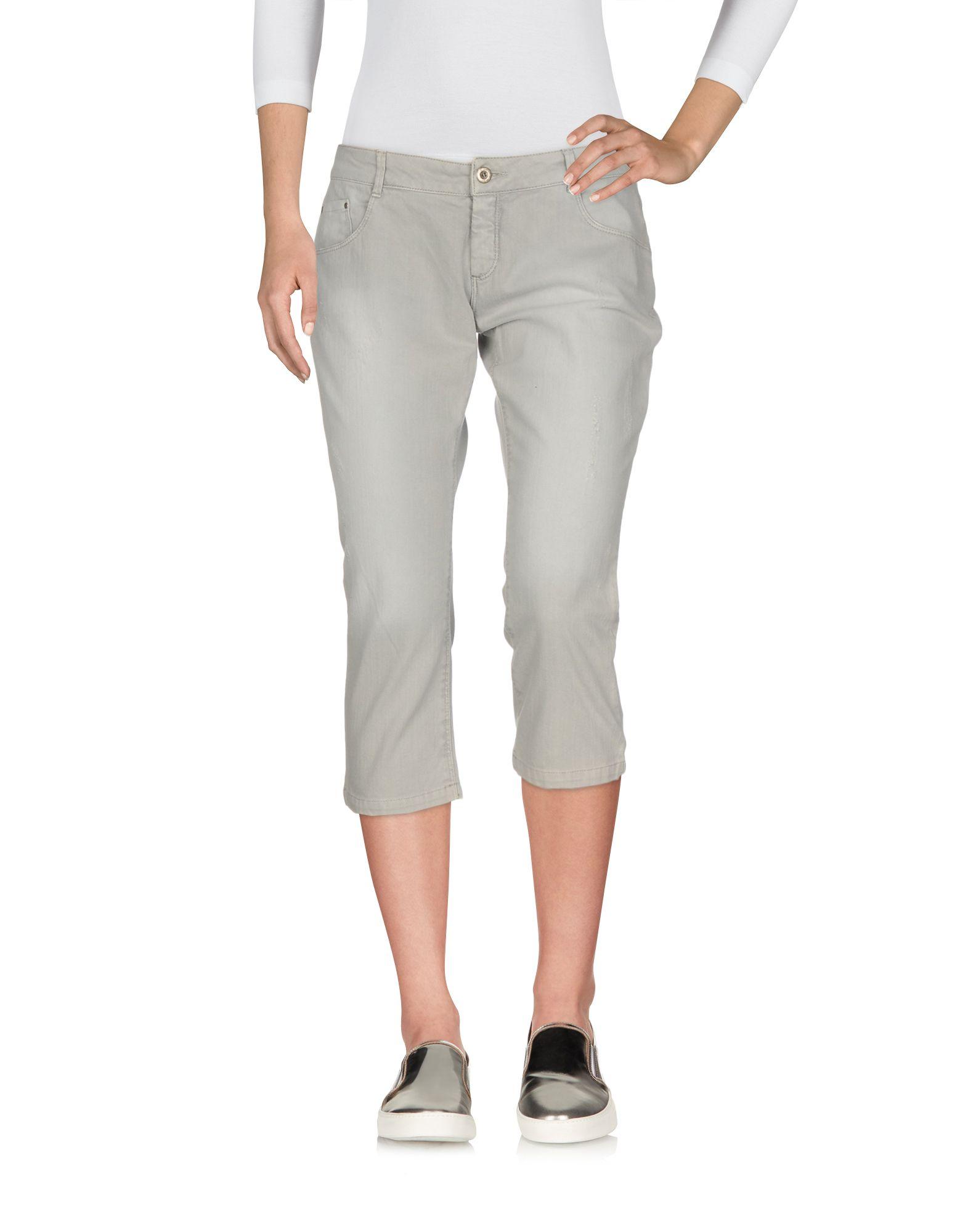 цены на E-GÓ Джинсовые брюки-капри  в интернет-магазинах