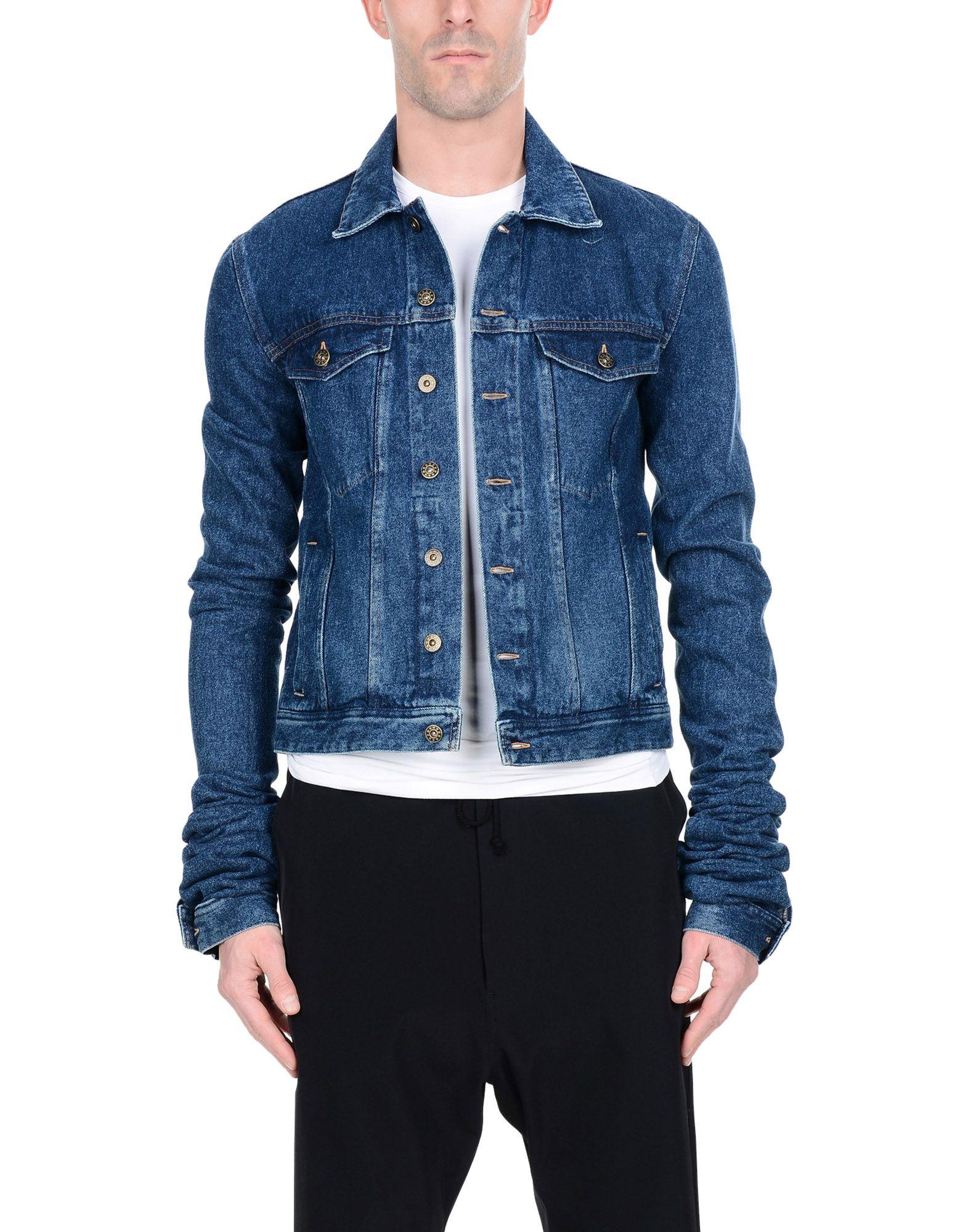 Y PROJECT Джинсовая верхняя одежда верхняя одежда