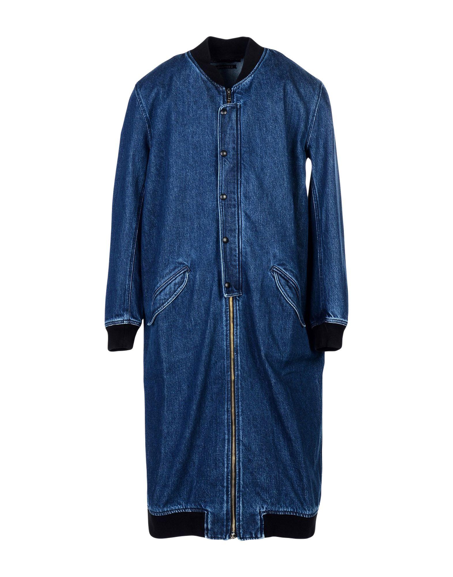 THE CRYPTONYM Джинсовая верхняя одежда